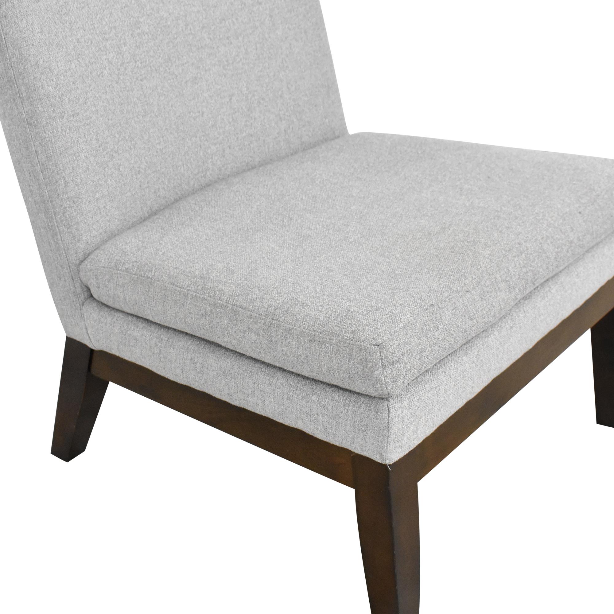 West Elm West Elm Slipper Chair grey