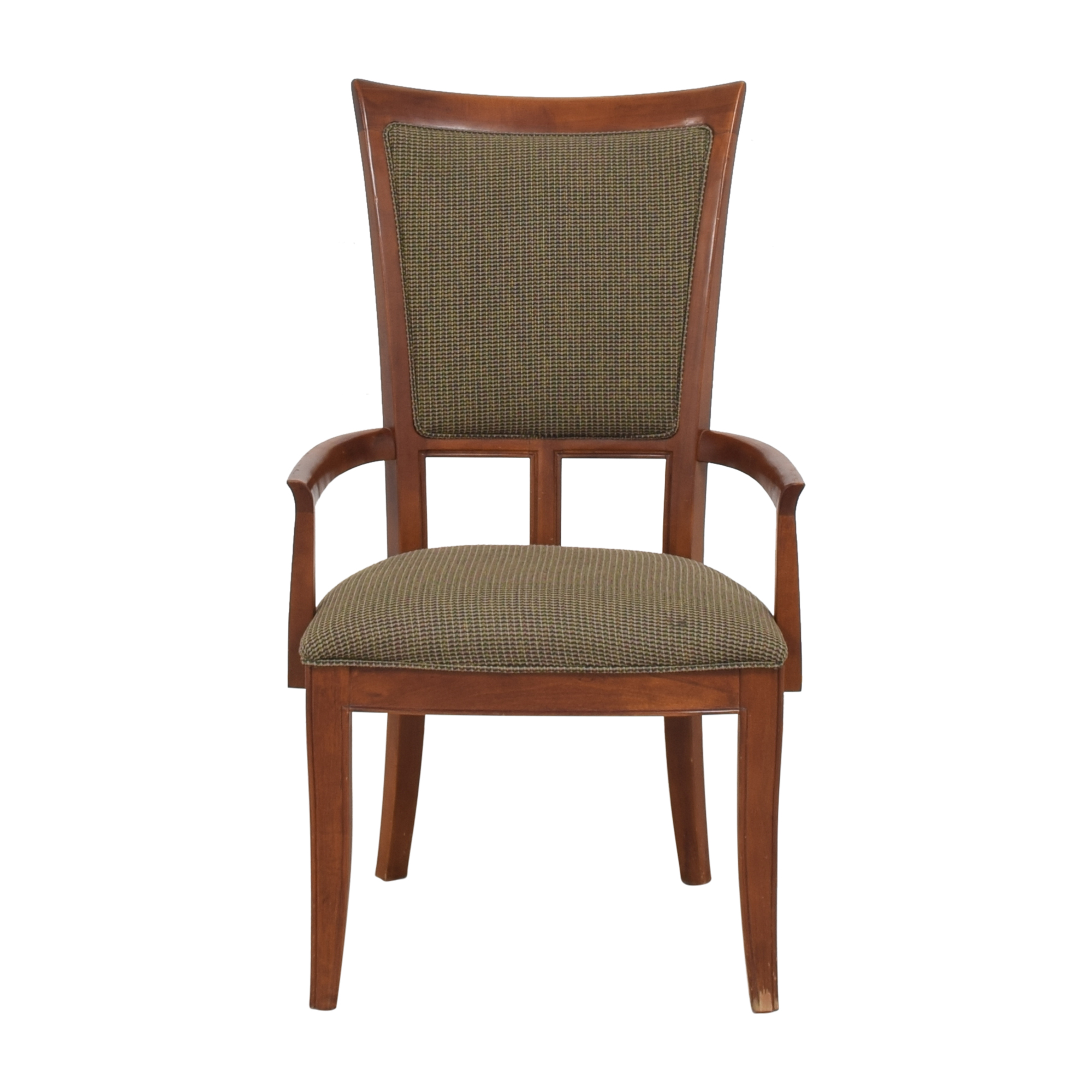 shop Stanley Furniture Upholstered Dining Arm Chair Stanley Furniture