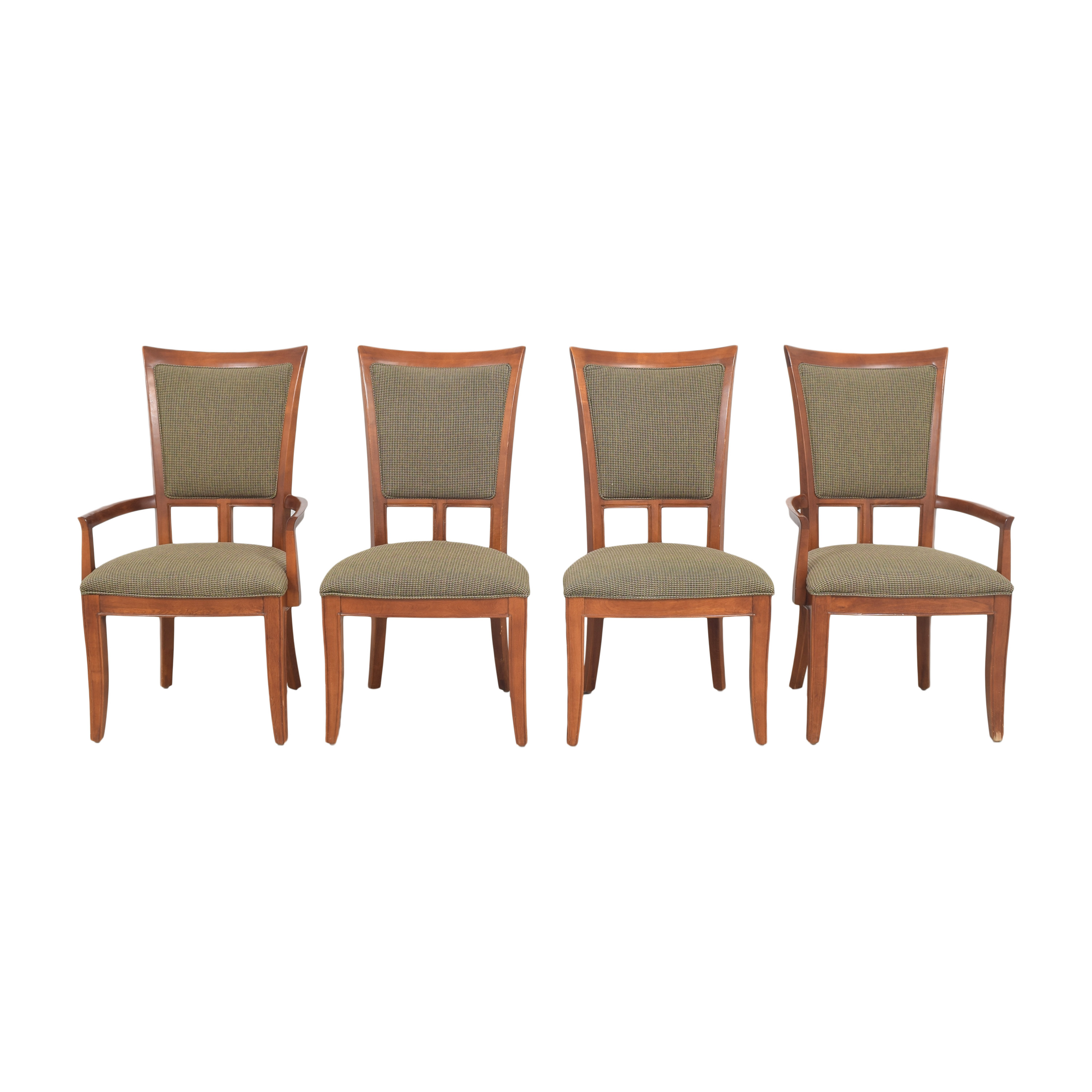 Stanley Furniture Stanley Furniture Upholstered Dining Chairs dimensions