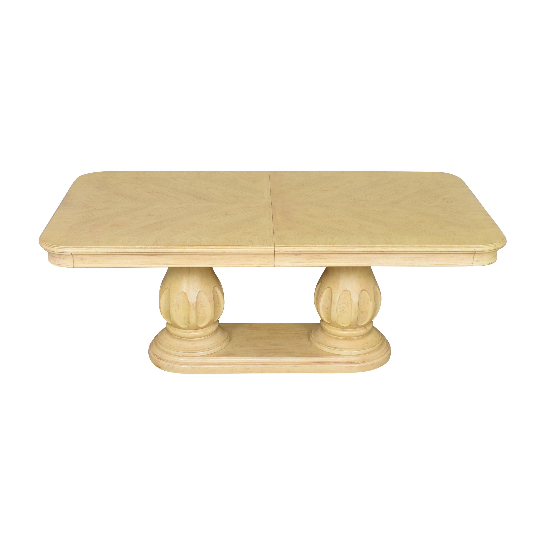 buy Bernhardt Bernhardt Extendable Double Pedestal Dining Table online
