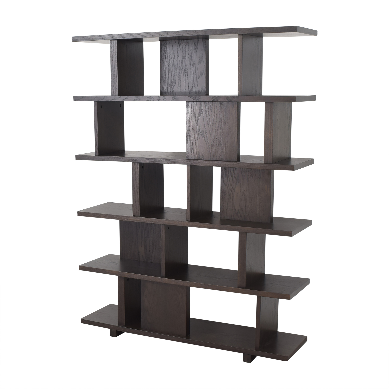 West Elm West Elm Divider Bookcase dimensions