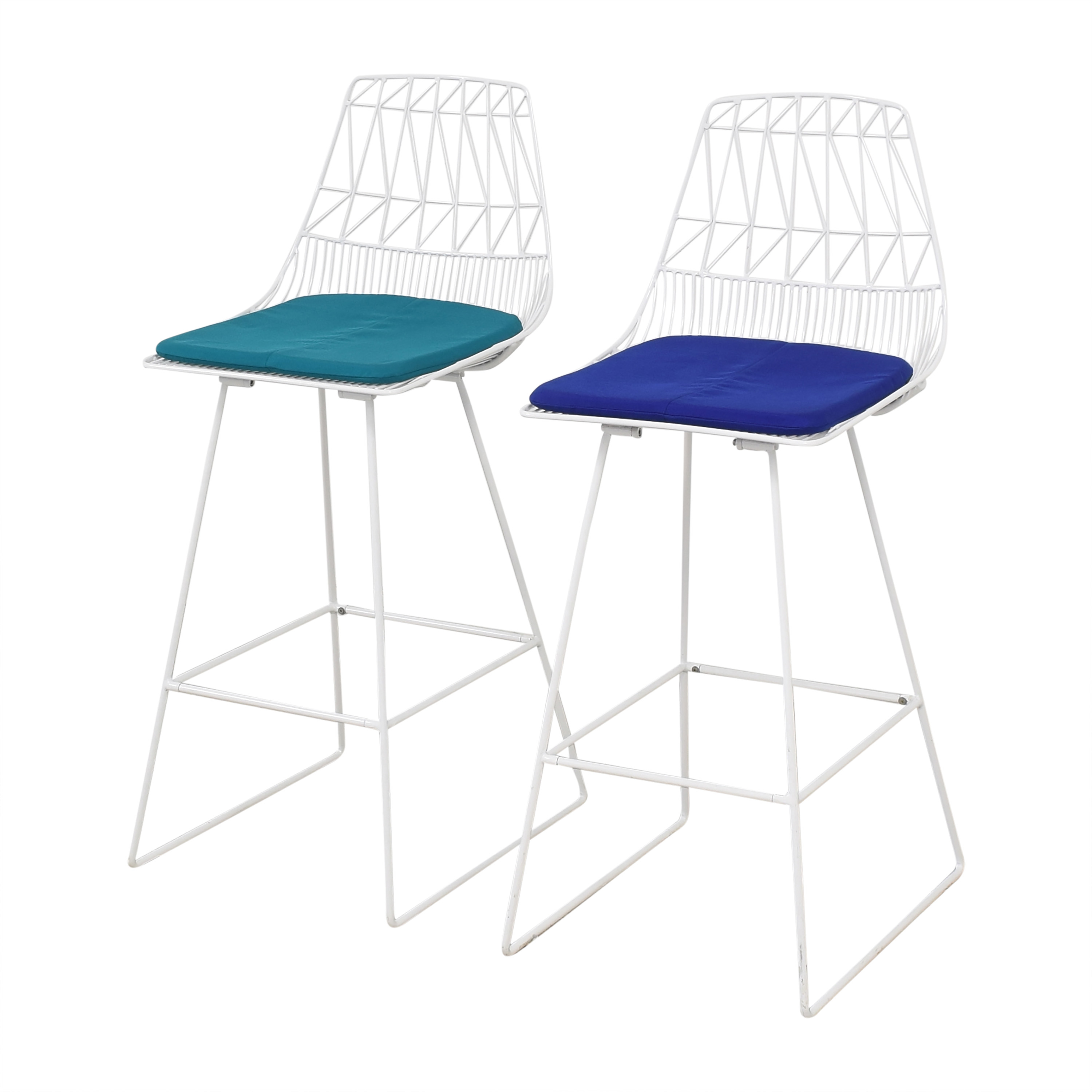 Bend Good Lucy Bar Stools with Cushions / Chairs