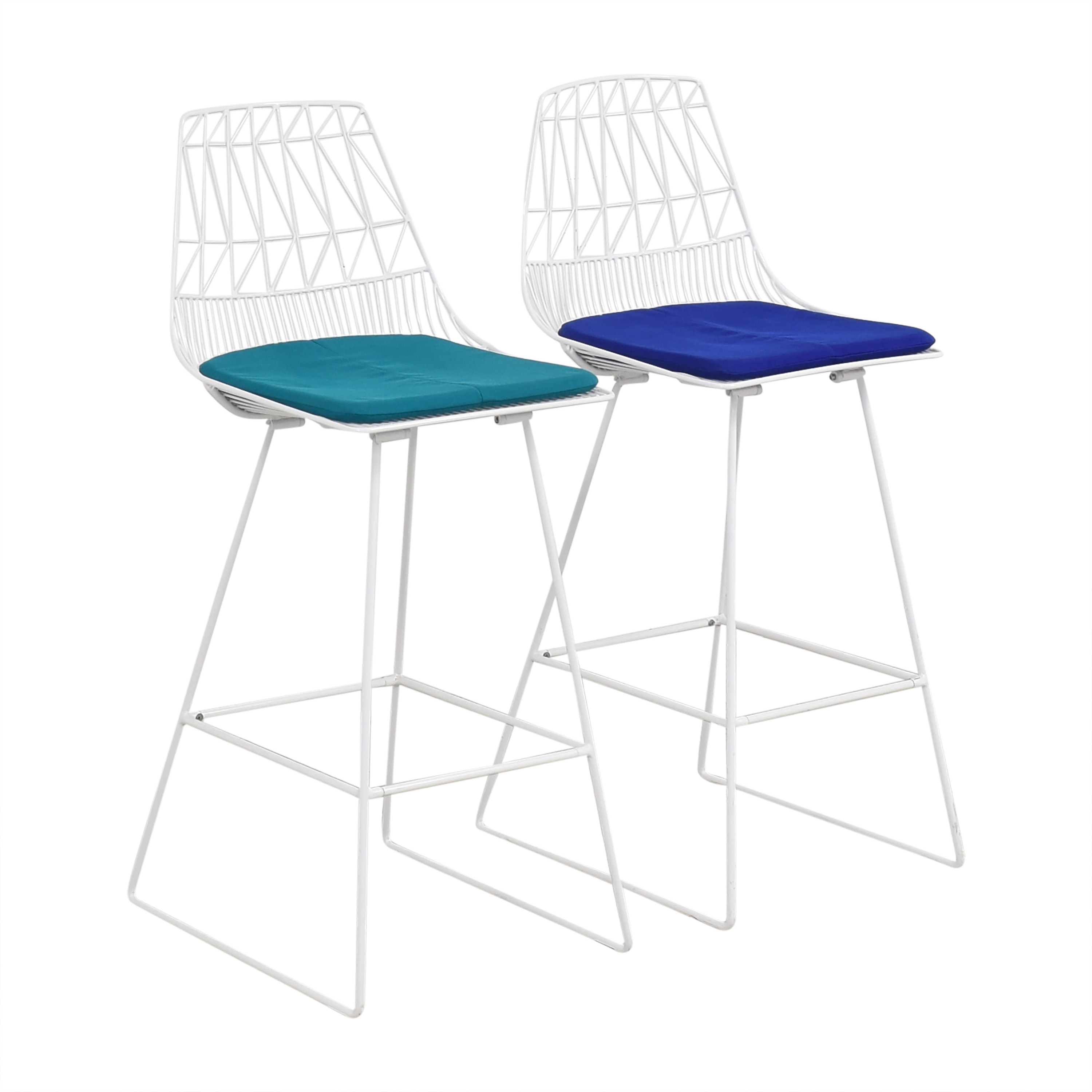 Bend Goods Bend Good Lucy Bar Stools with Cushions nyc