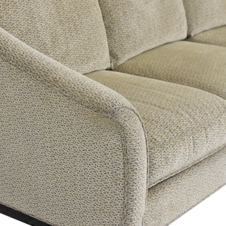 Maurice Villency Maurice Villency Three Cushion Upholstered Sofa nyc