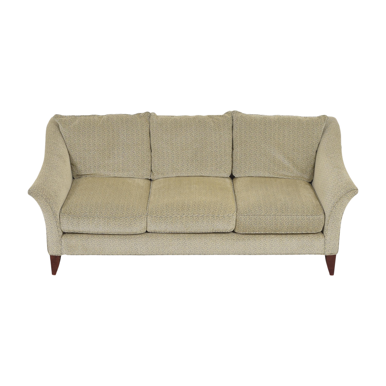 Maurice Villency Maurice Villency Three Cushion Upholstered Sofa Sofas