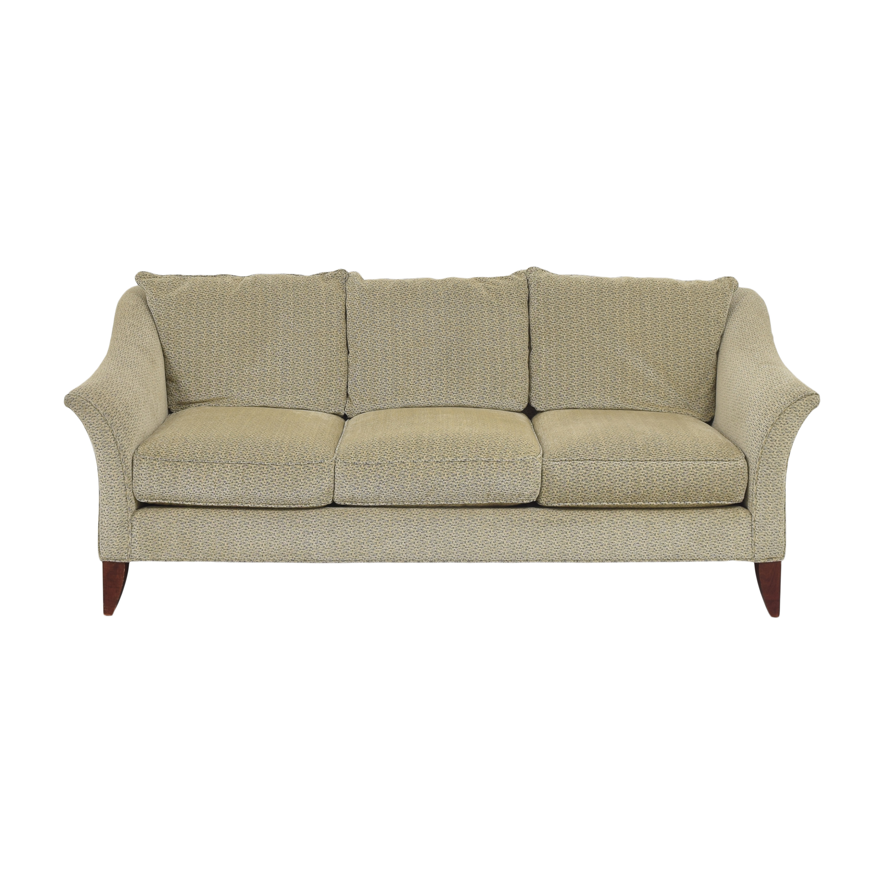 buy Maurice Villency Three Cushion Upholstered Sofa Maurice Villency