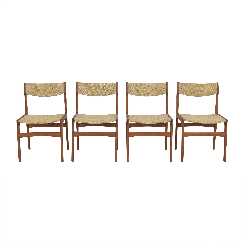 J.L. Møllers Møbelfabrik J.L. Møllers Møbelfabrik Upholstered Dining Chairs ct