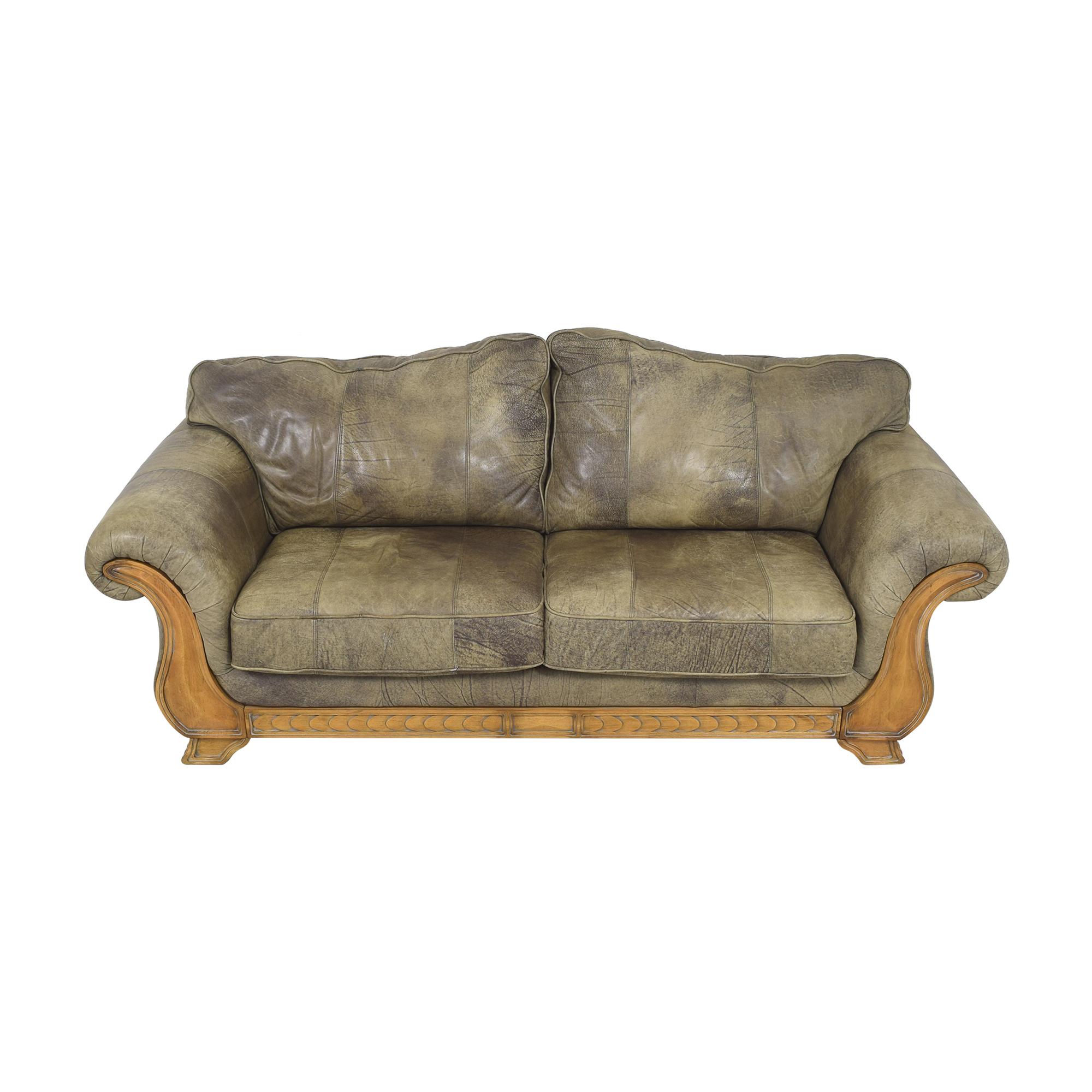 Flexsteel Sahara Retreat Two Cushion Sofa Flexsteel