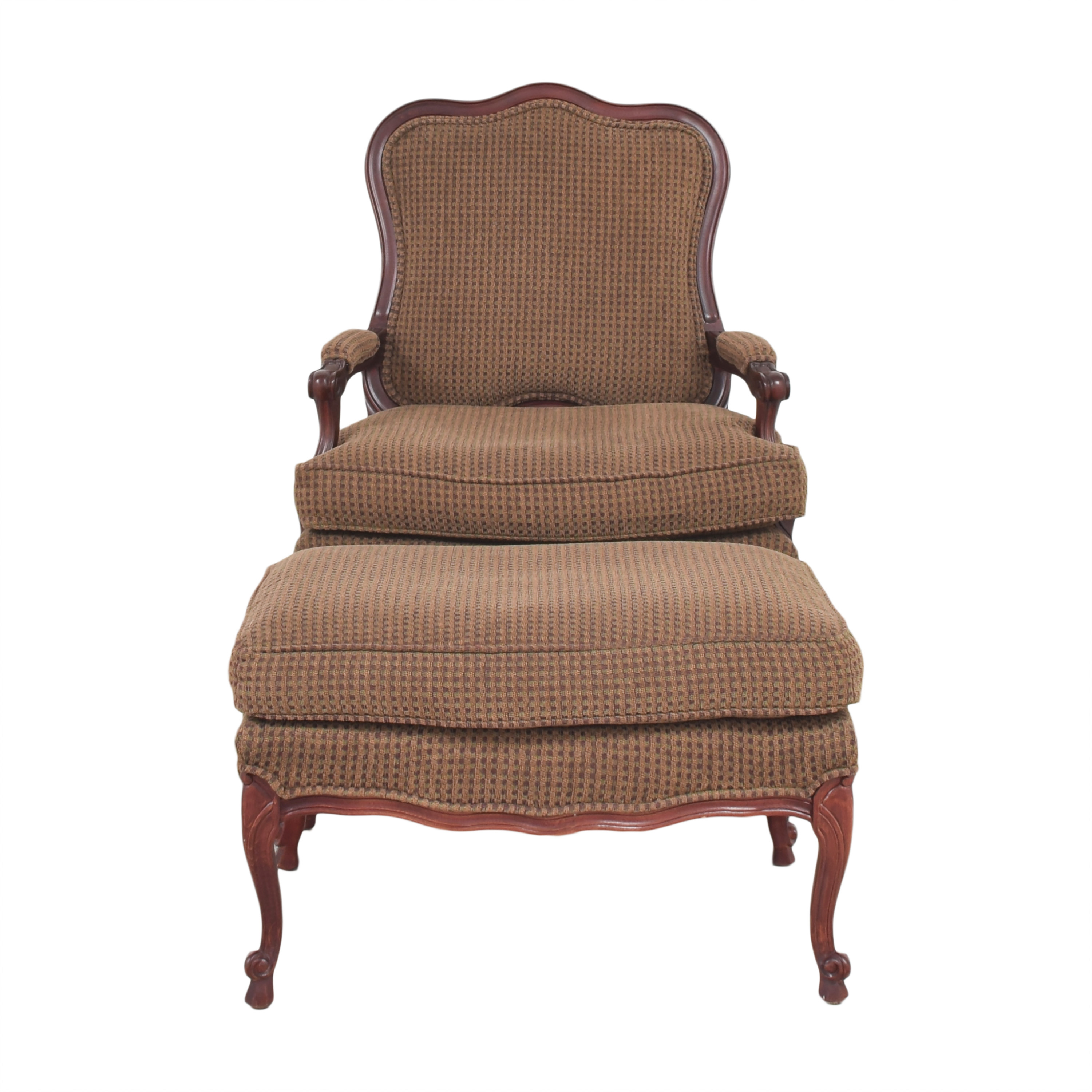Fairfield Chair Company Accent Chair with Ottoman / Accent Chairs