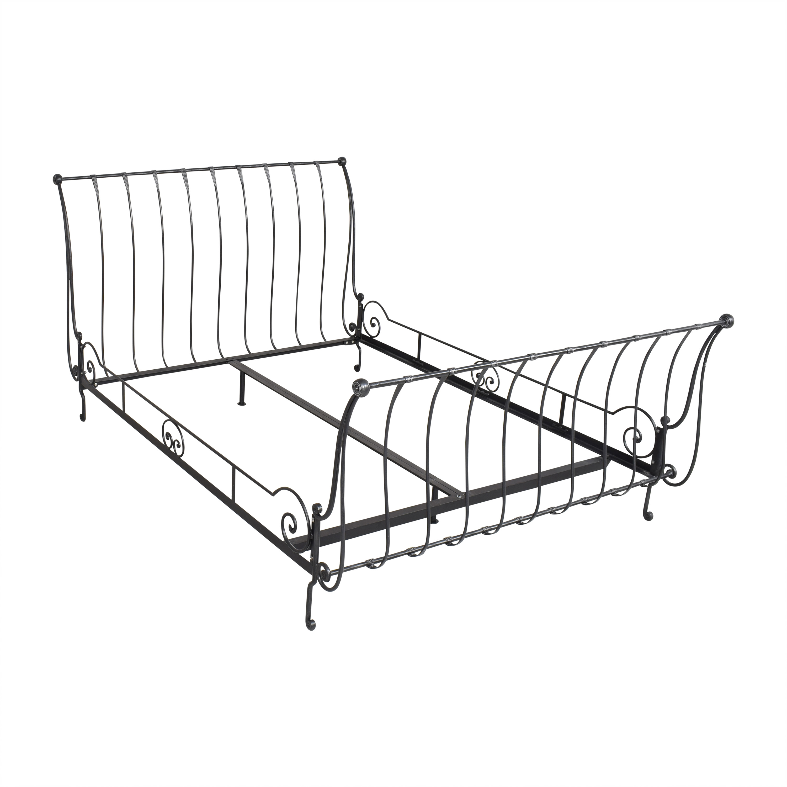 Charles P. Rogers Charles P. Rogers Paris Queen Sleigh Bed nj