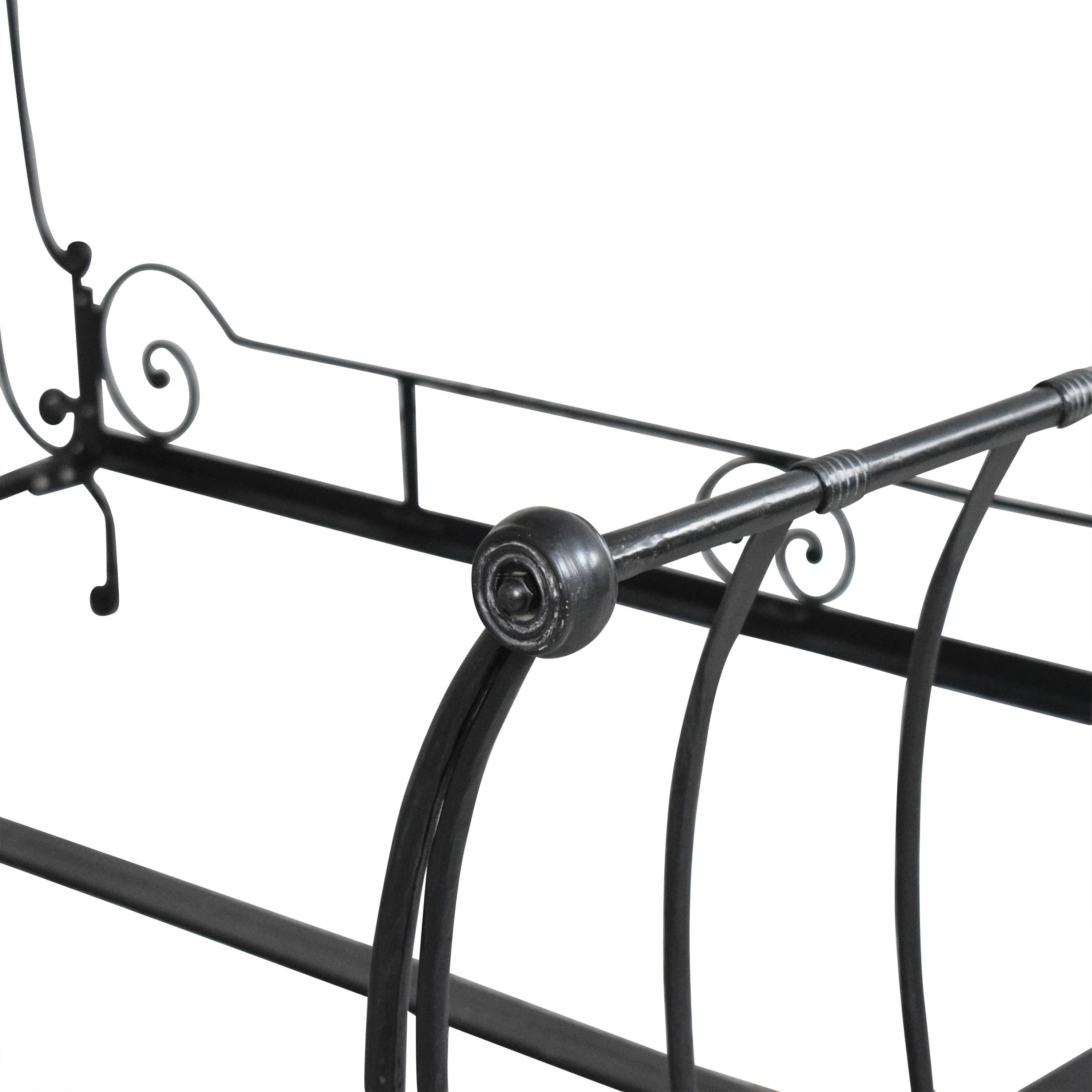 buy Charles P. Rogers Paris Queen Sleigh Bed Charles P. Rogers Bed Frames