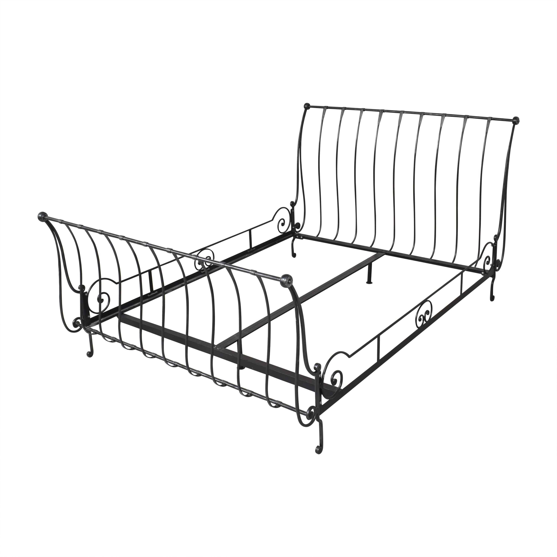 buy Charles P. Rogers Charles P. Rogers Paris Queen Sleigh Bed online