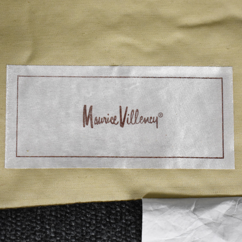 buy Maurice Villency Maurice Villency Scalloped Swivel Chair  online