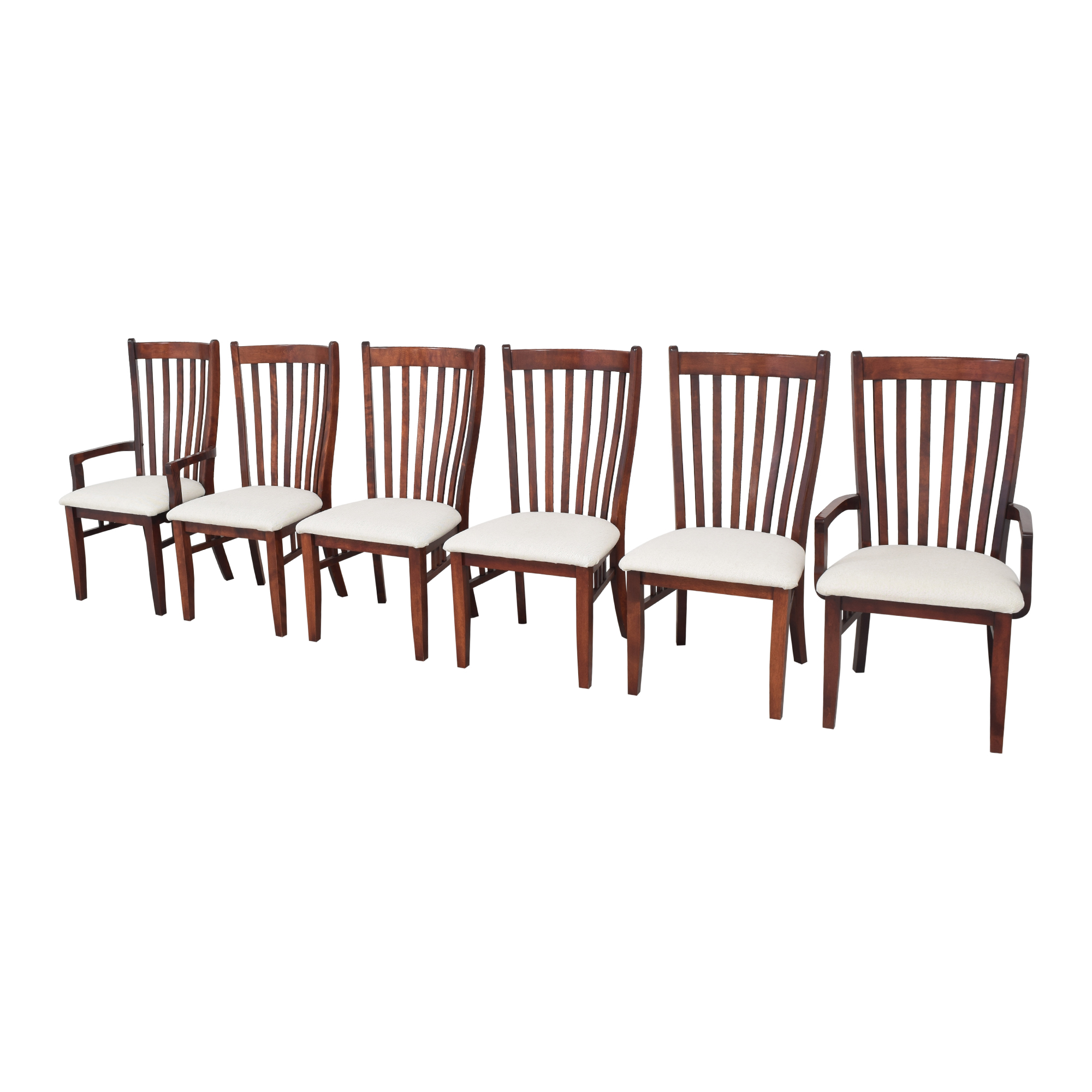 Canadel Canadel Slat Back Dining Chairs