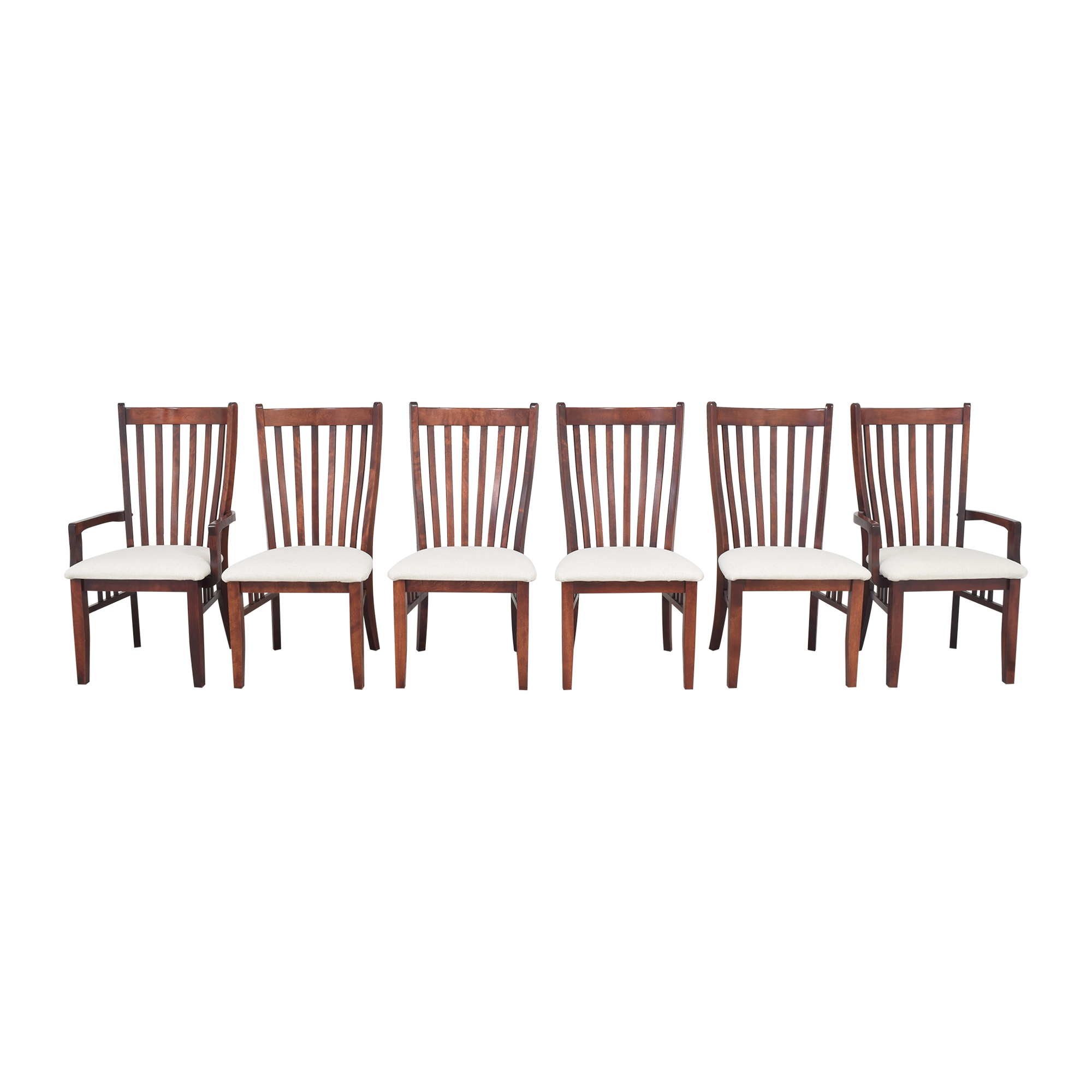 Canadel Canadel Slat Back Dining Chairs dimensions