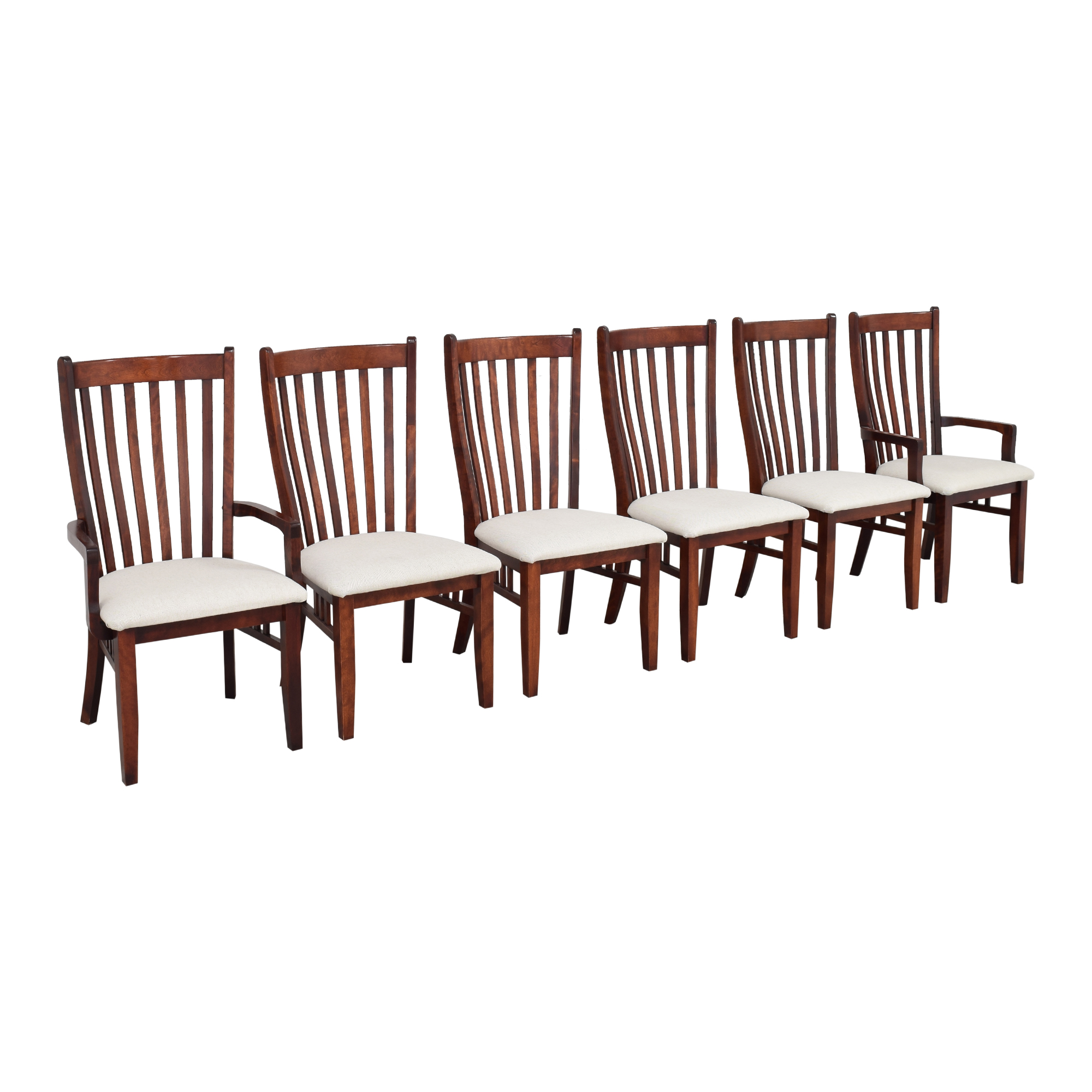 Canadel Canadel Slat Back Dining Chairs ct