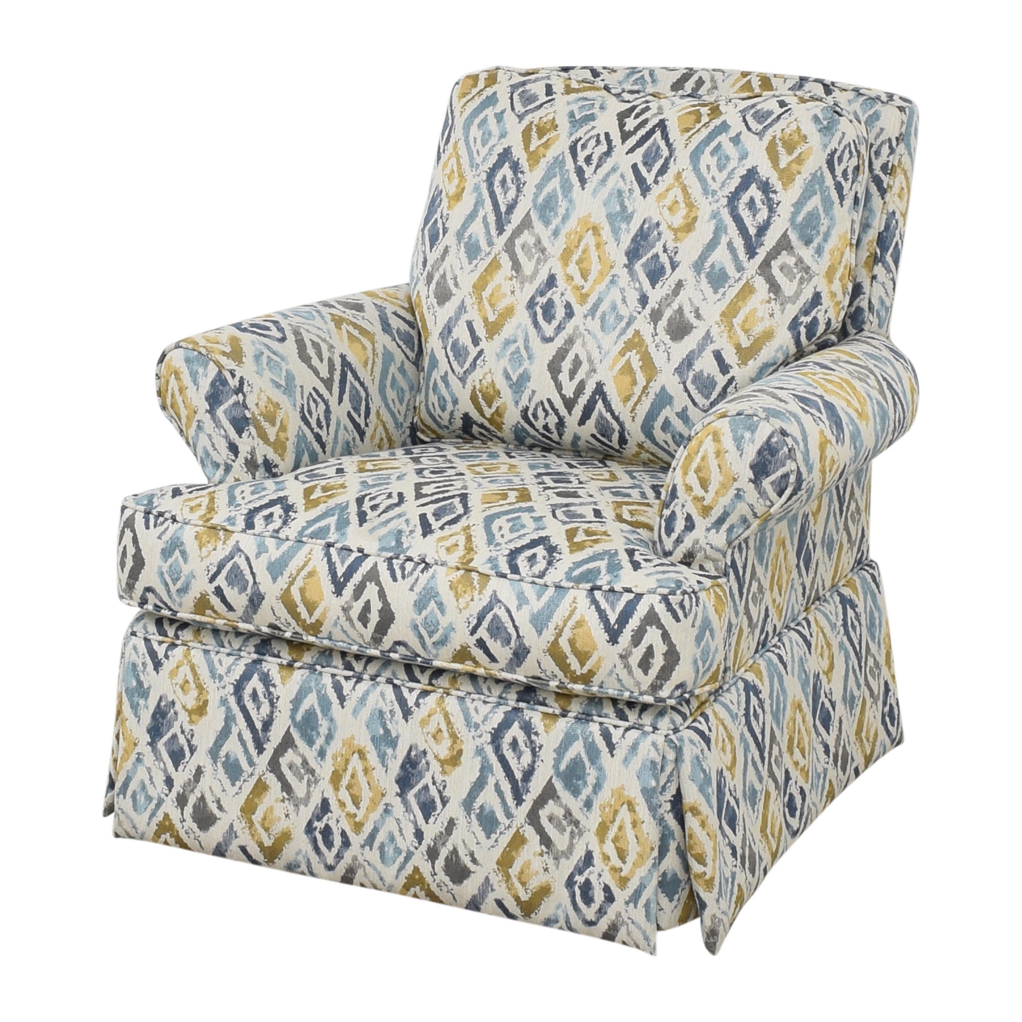 Raymour & Flanigan Swivel Accent Chair / Chairs