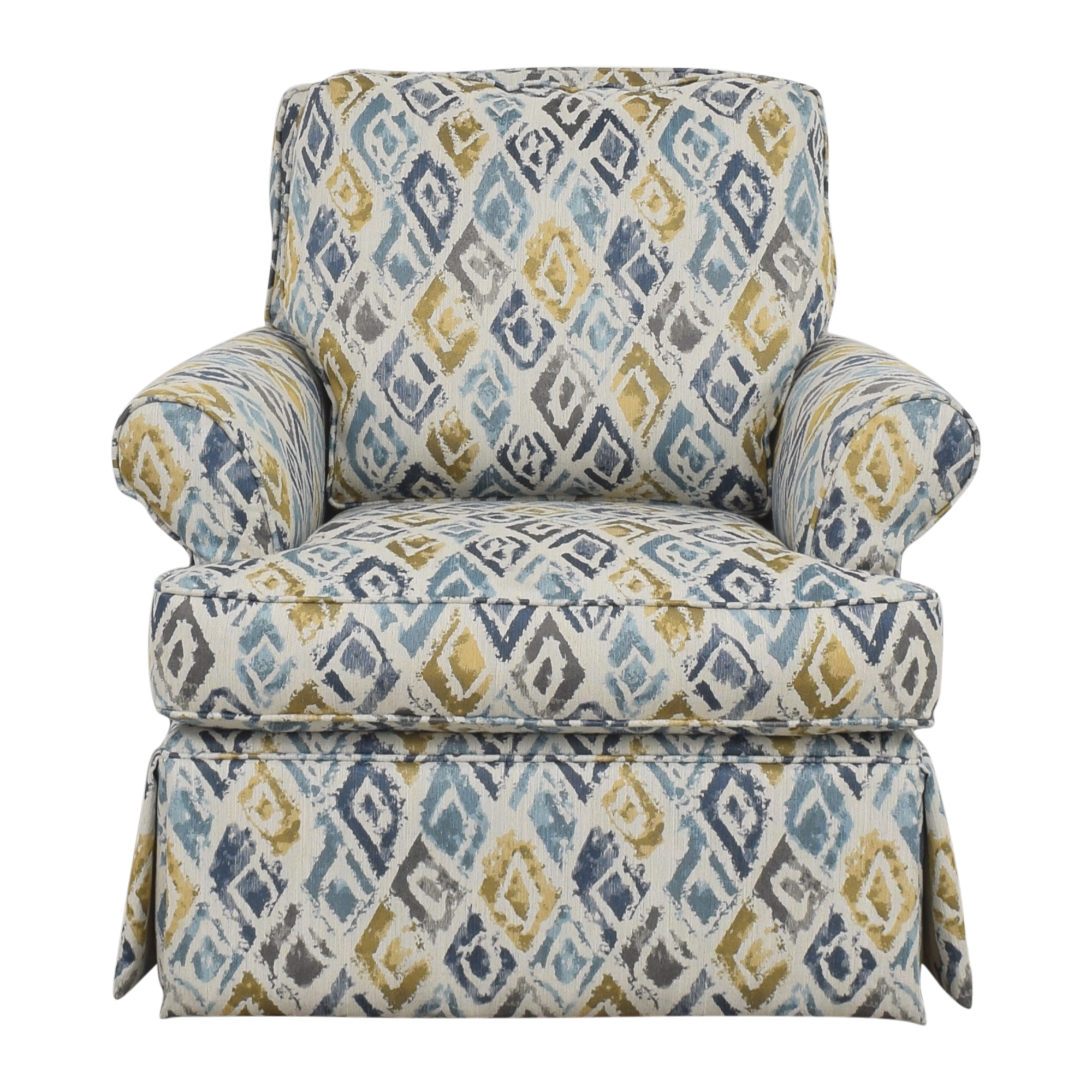 Raymour & Flanigan Swivel Accent Chair / Accent Chairs