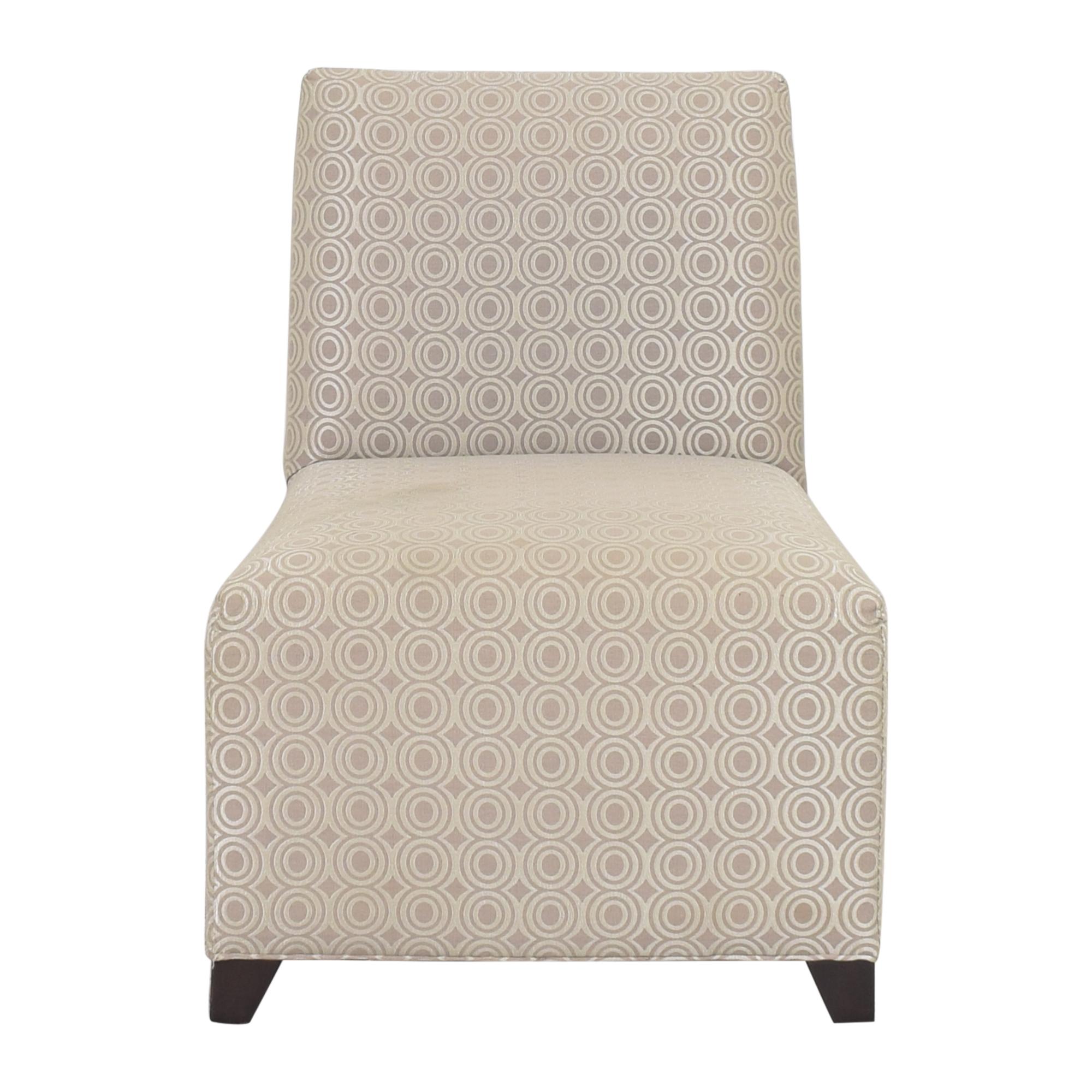 buy Ethan Allen Slipper Accent Chair with Ottoman Ethan Allen Chairs