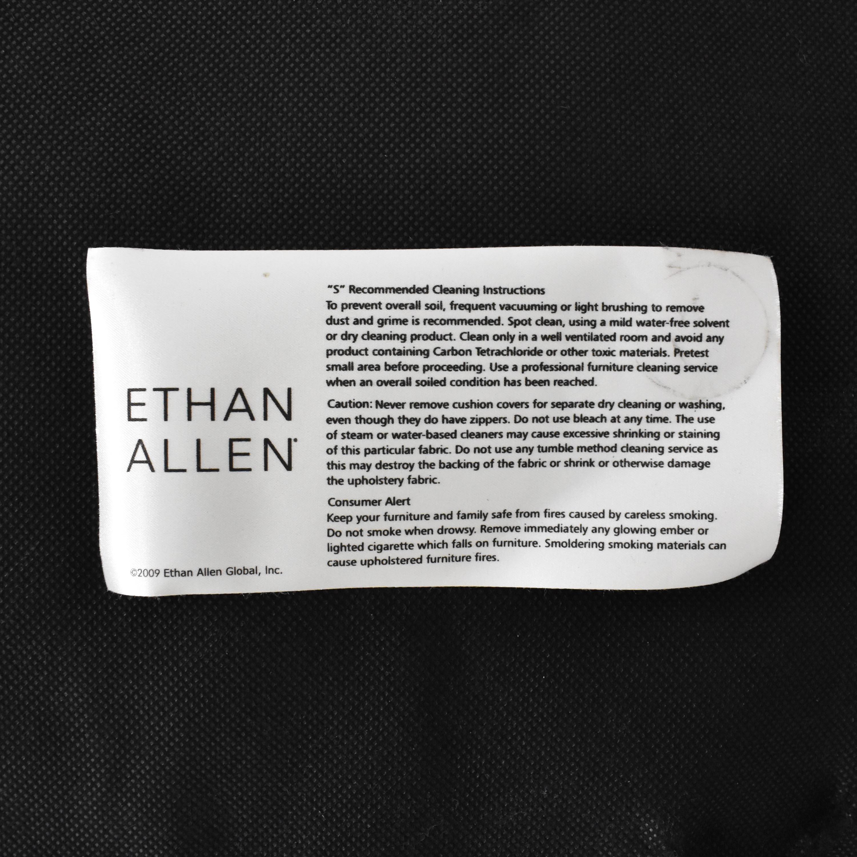 Ethan Allen Ethan Allen Slipper Accent Chair with Ottoman discount