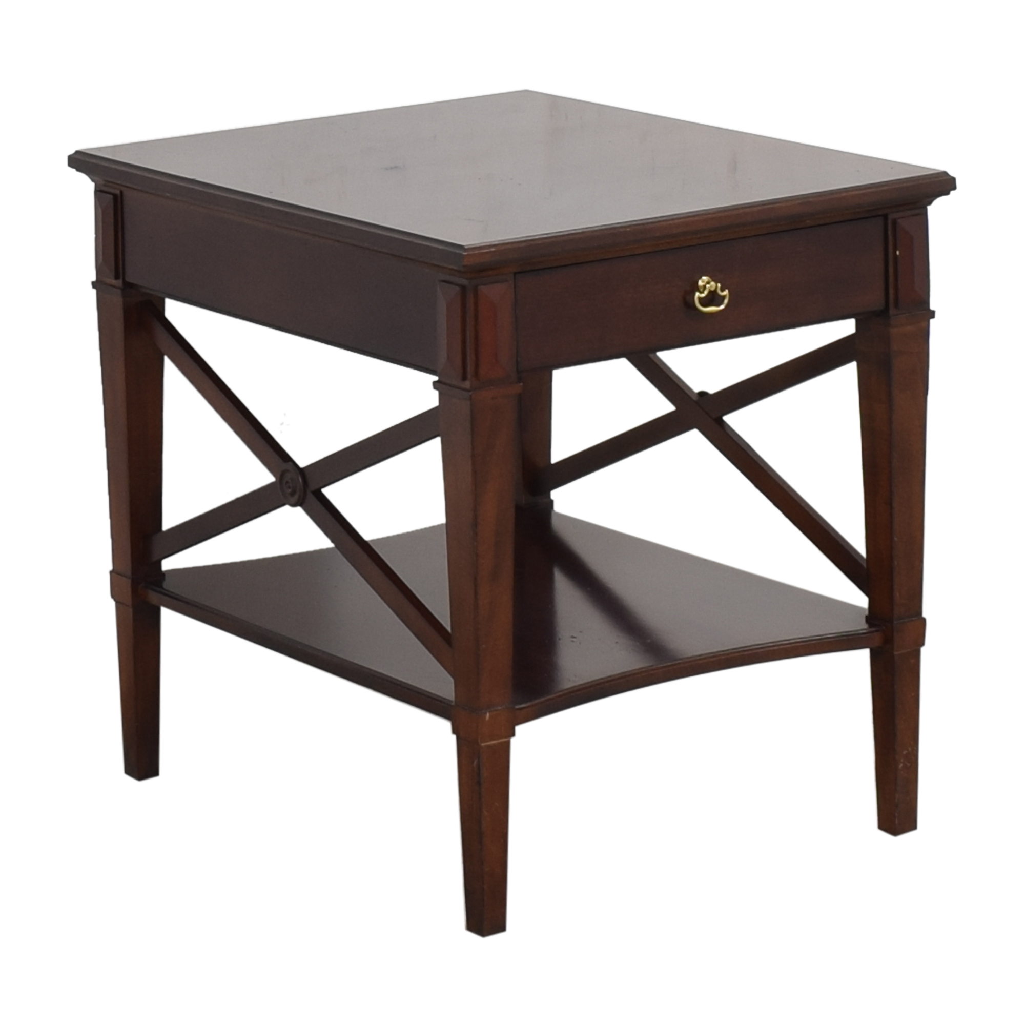 Hickory Chair Hickory Chair One Drawer Side Table dimensions