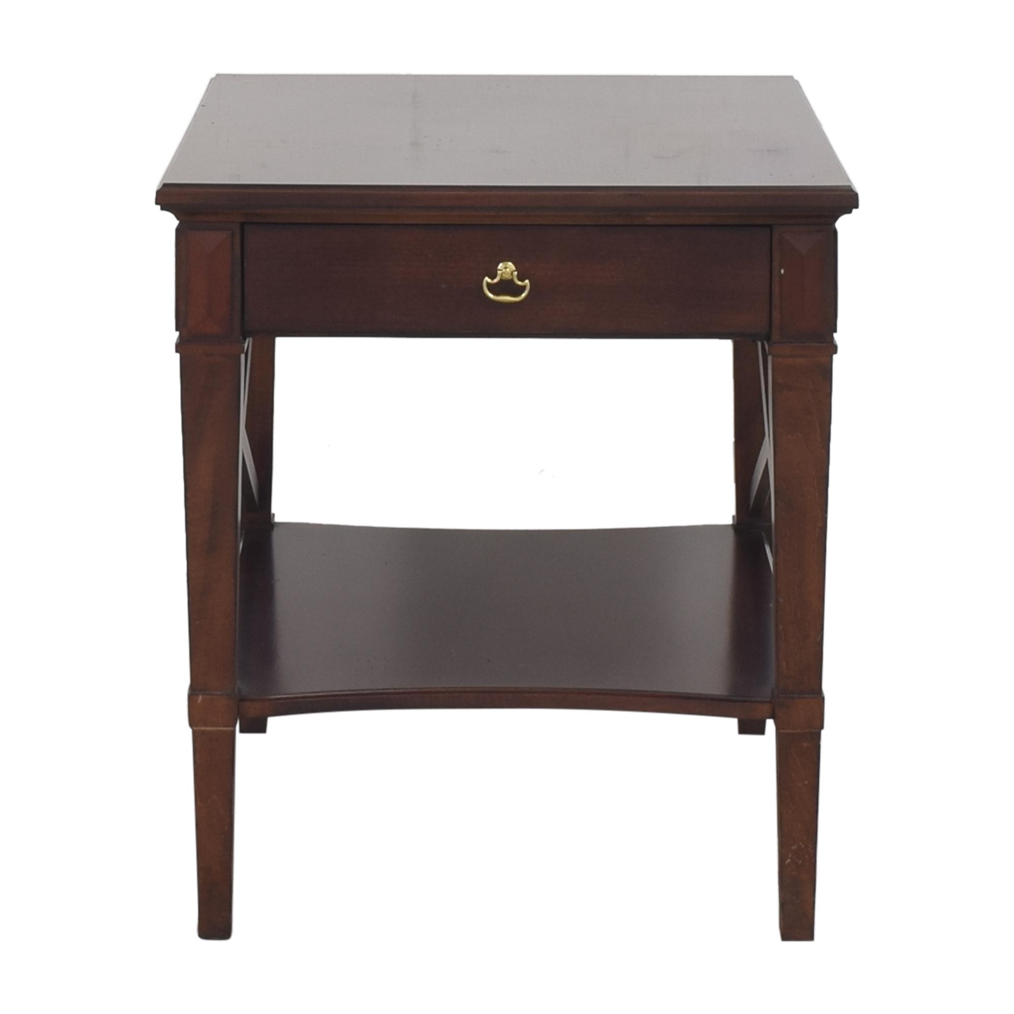 Hickory Chair Hickory Chair One Drawer Side Table pa