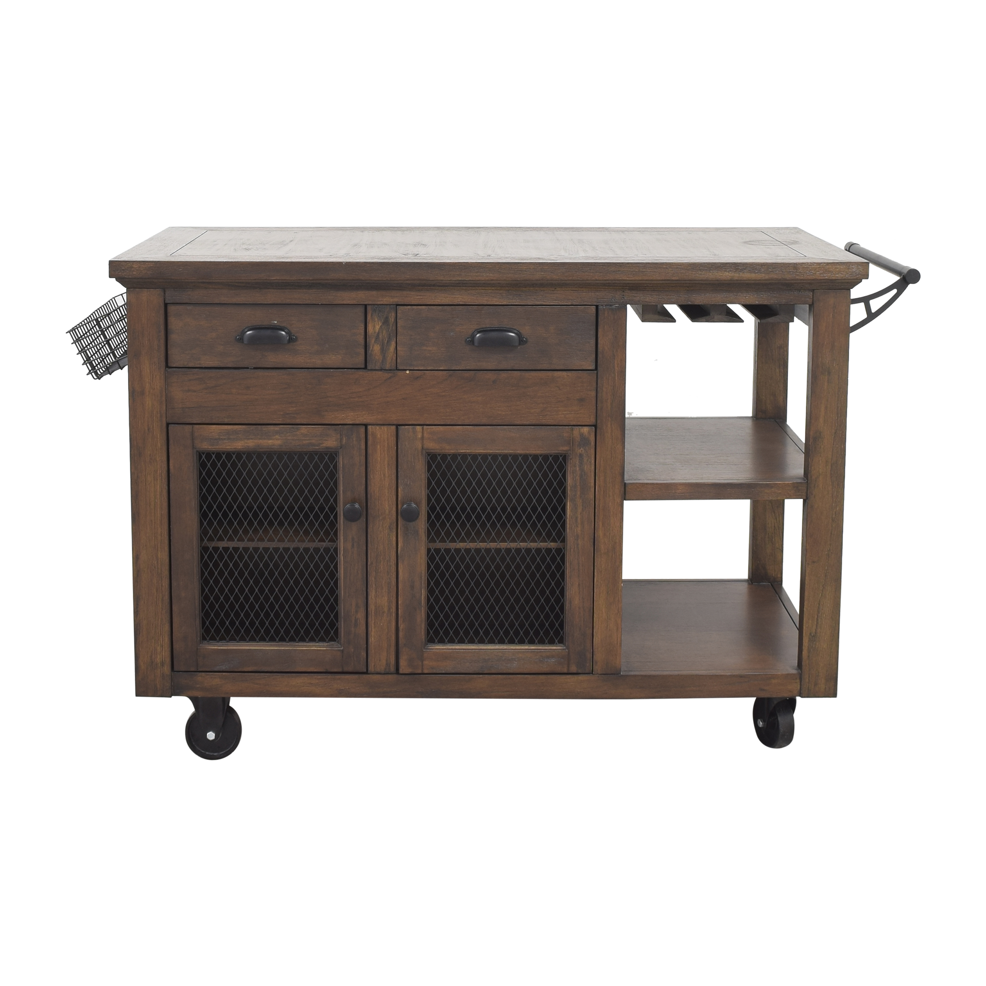 Home Decorators Collection Home Decorators Collection Cooper Rustic Kitchen Cart on sale