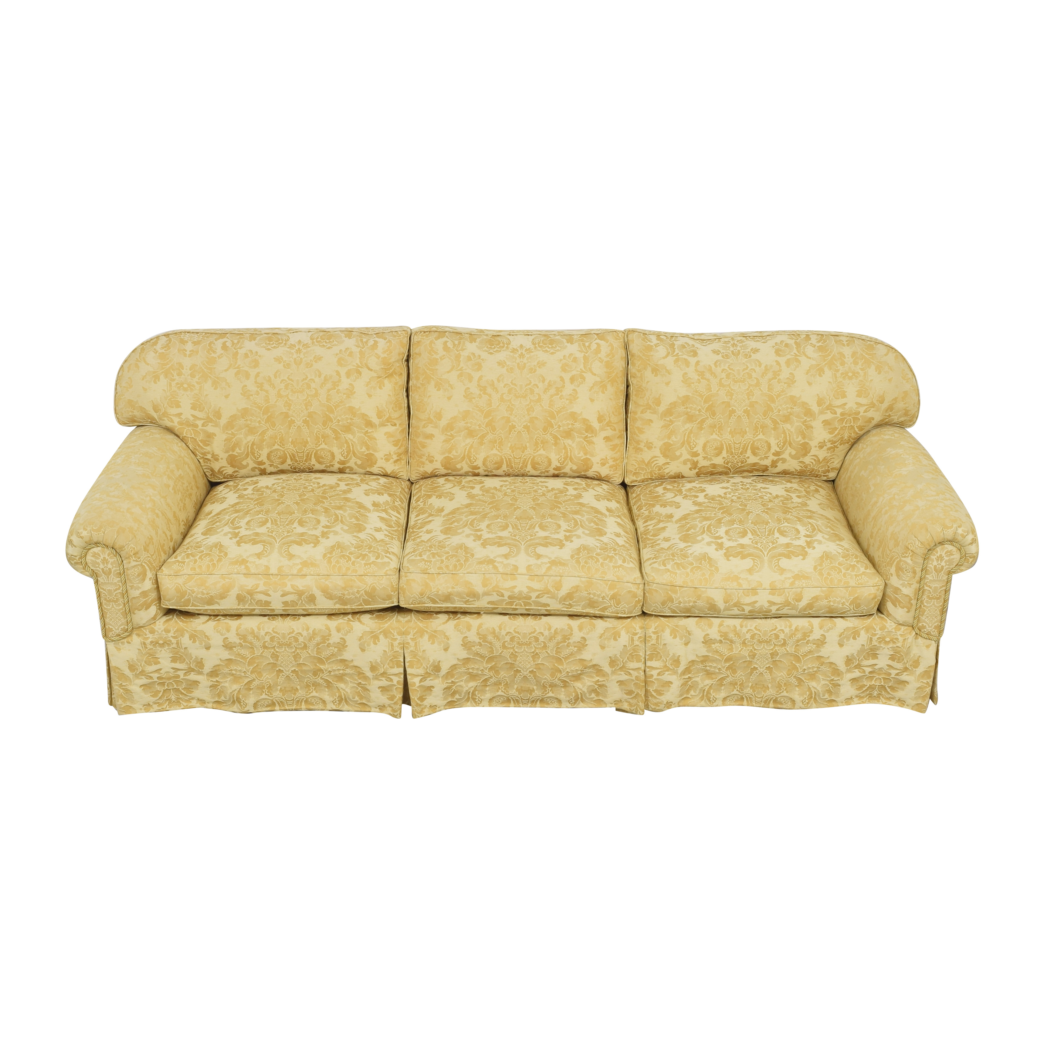 buy Damask Skirted Sofa  Sofas