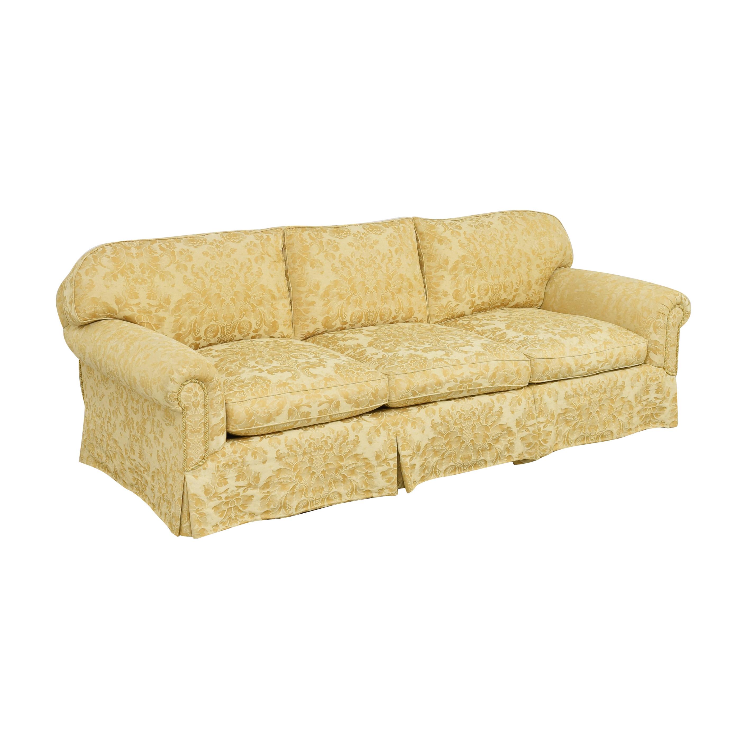 Damask Skirted Sofa Sofas