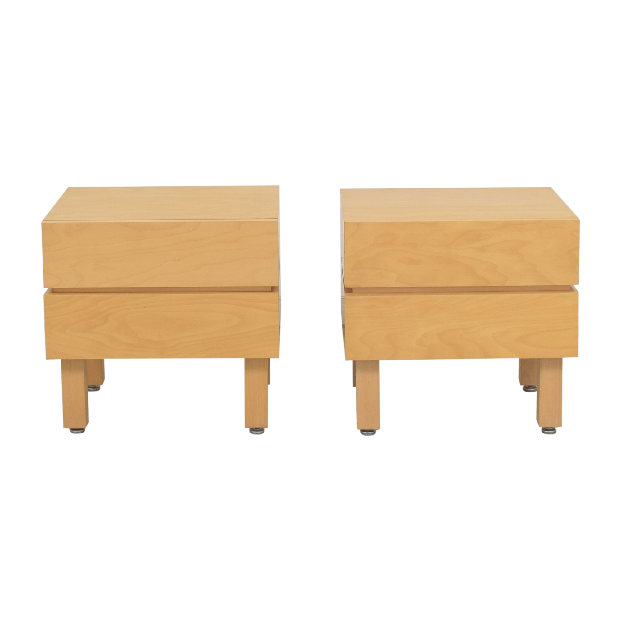 shop Custom Two Drawer Nightstands  End Tables