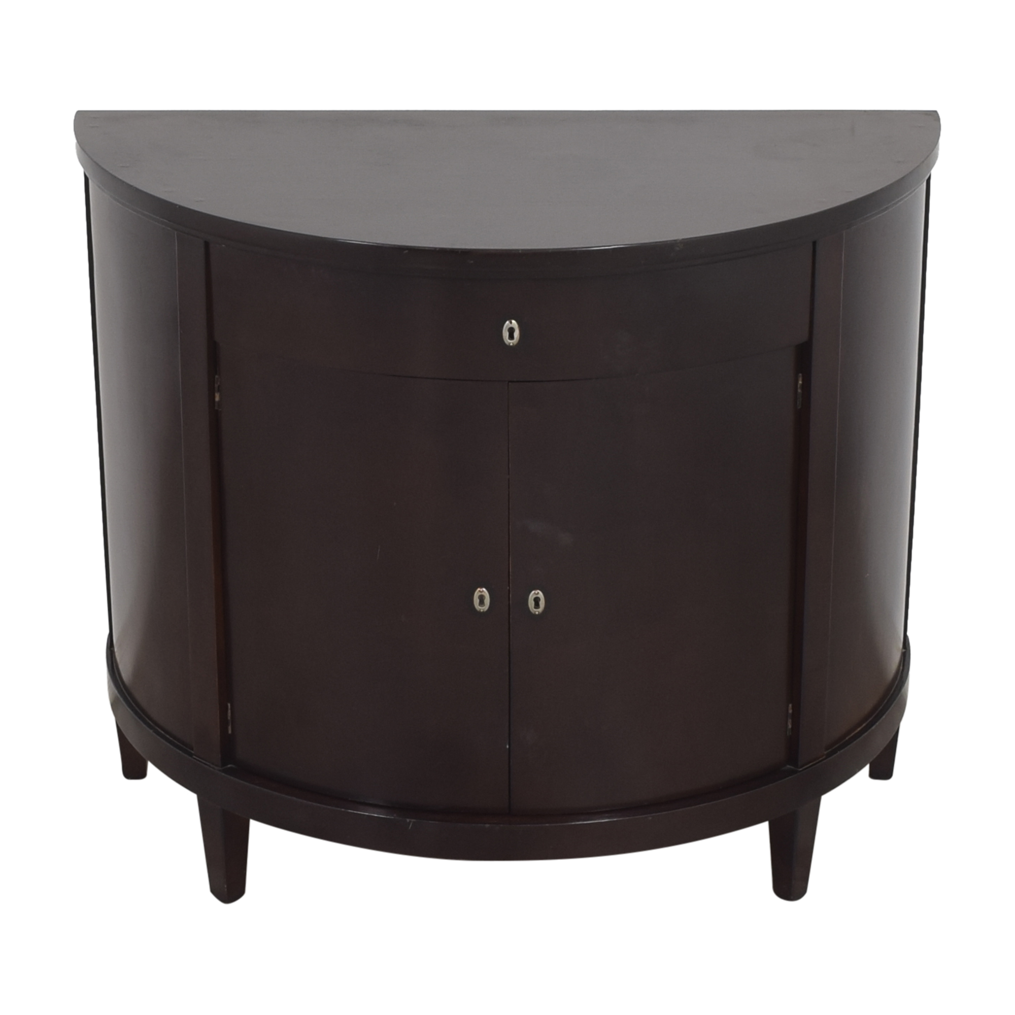 Bloomingdale's Bloomingdale's Demilune Accent Cabinet nyc