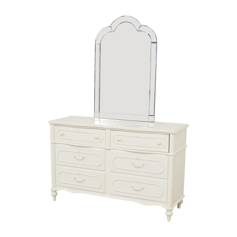 Universal Furniture Universal Furniture SmartStuff Bellamy Dresser with Mirror Dressers