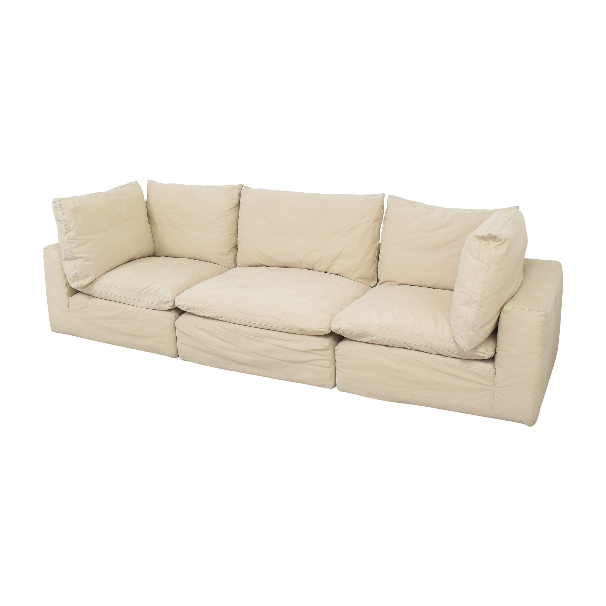 shop Restoration Hardware Cloud Modular Sofa Restoration Hardware Sectionals
