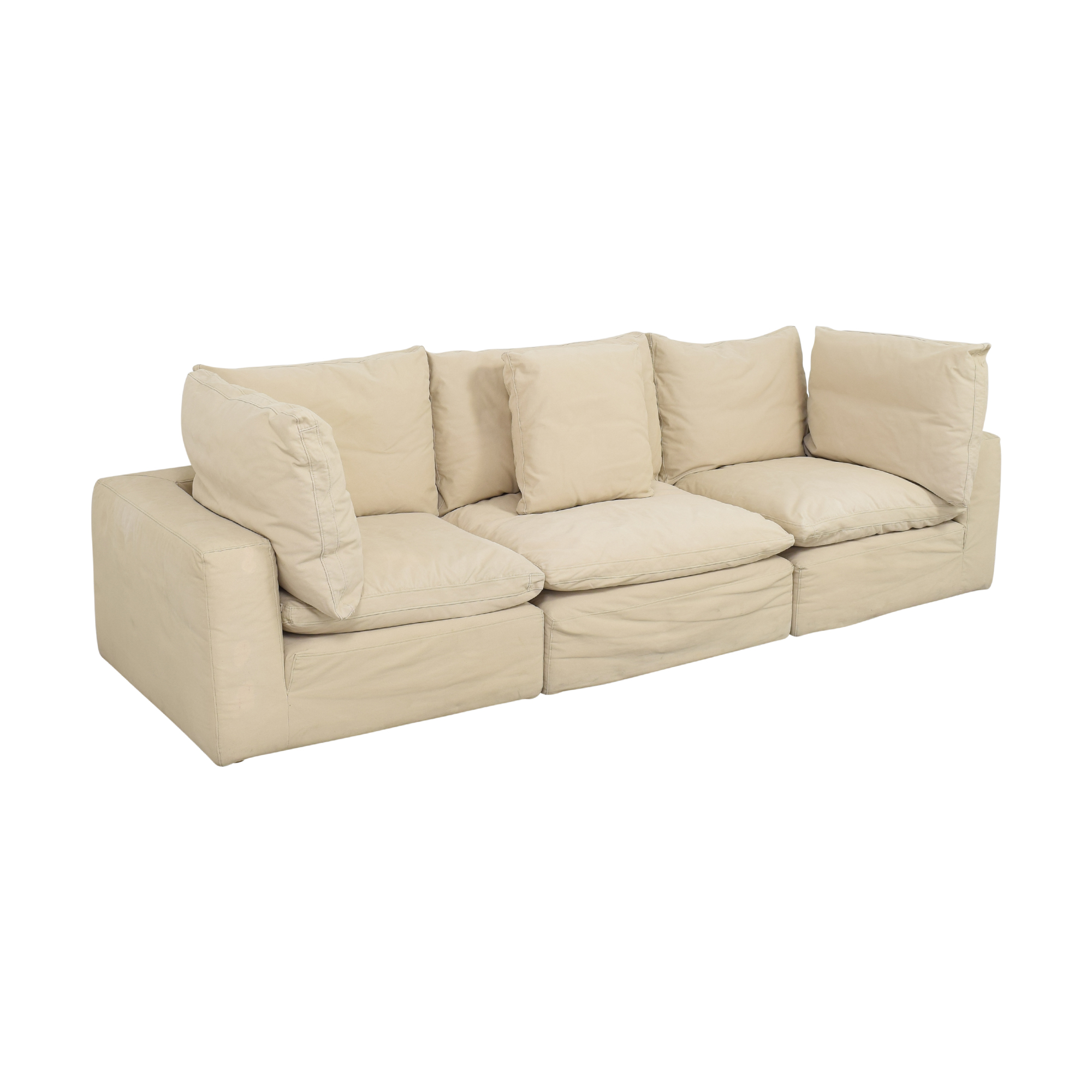 Restoration Hardware Cloud Modular Sofa sale