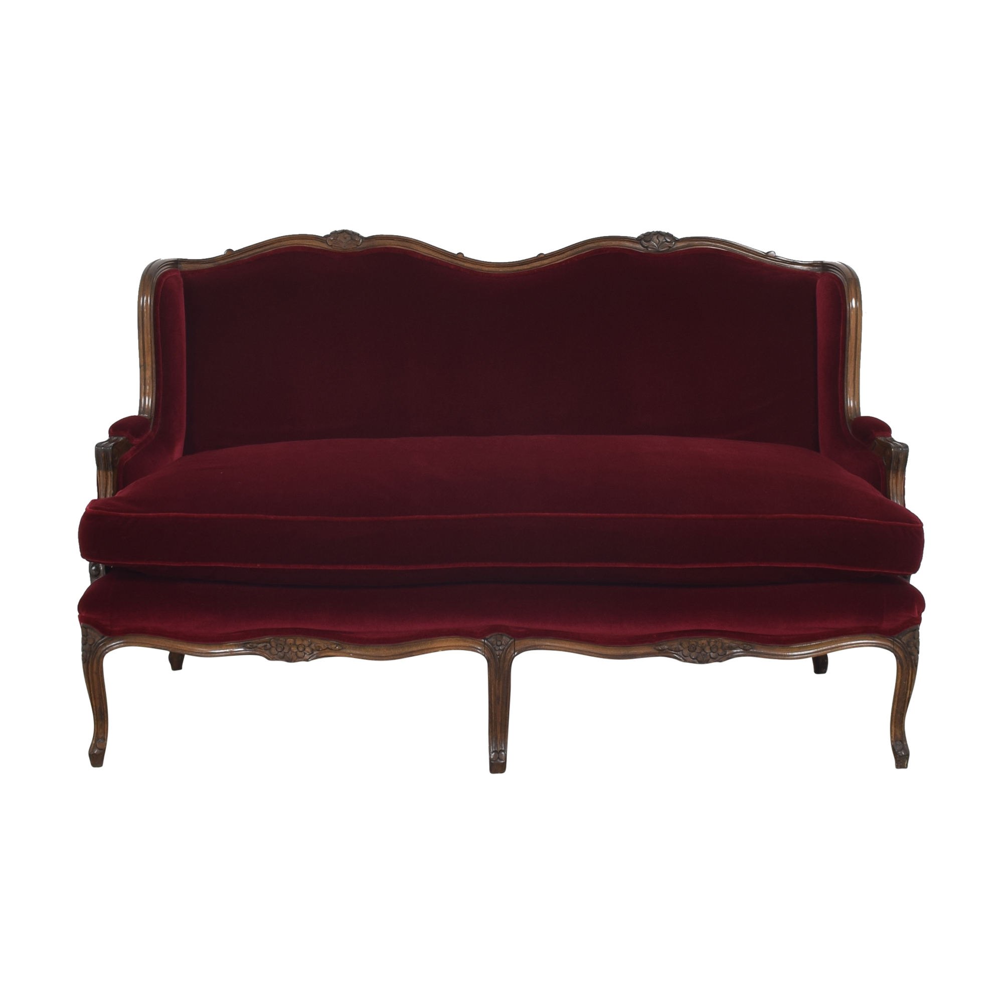buy Devon Shops French Louis XV-Style Canape Sofa Devon Shops
