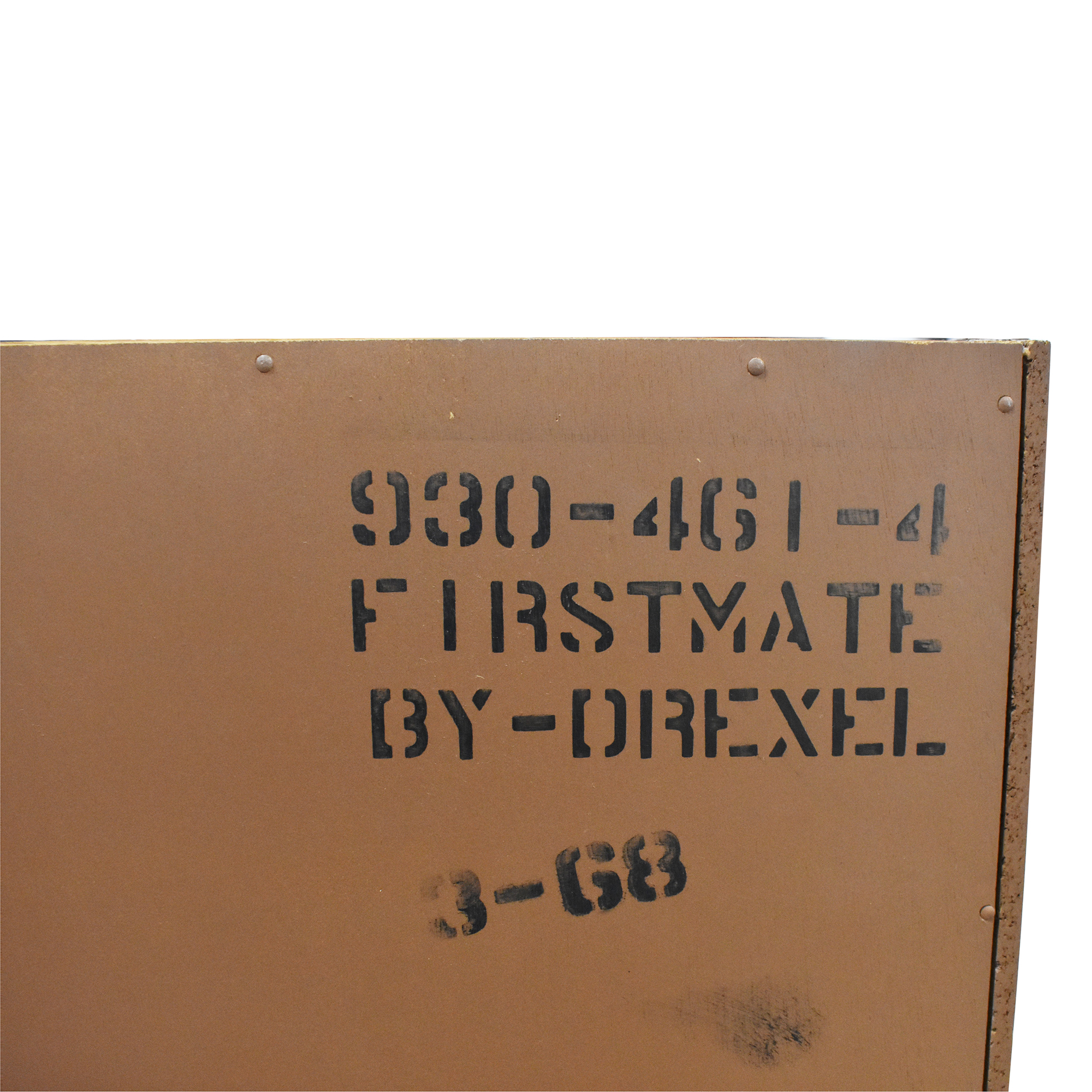 shop Drexel Firstmate Three Drawer Dressers with Hutch Drexel Dressers