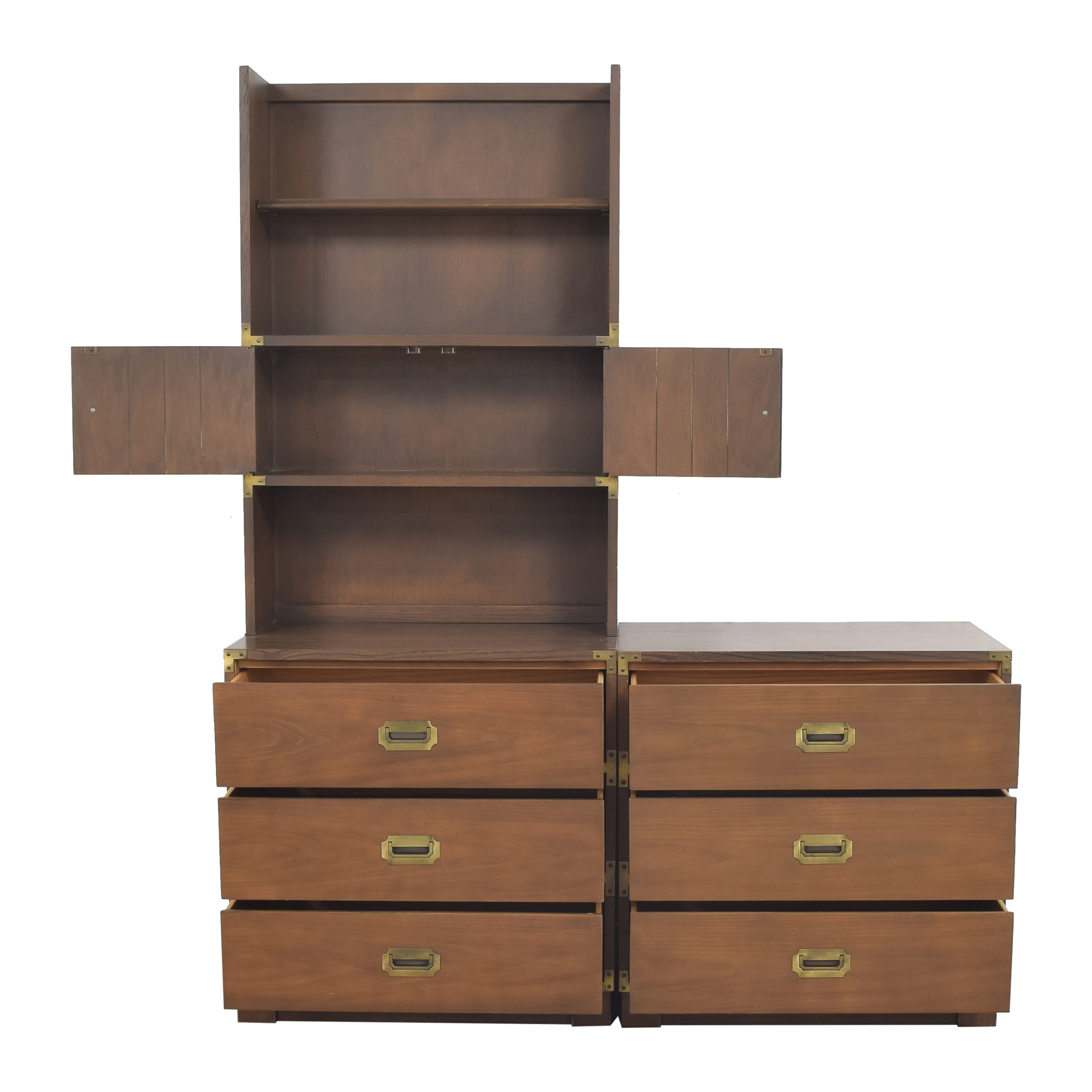 buy Drexel Drexel Firstmate Three Drawer Dressers with Hutch online