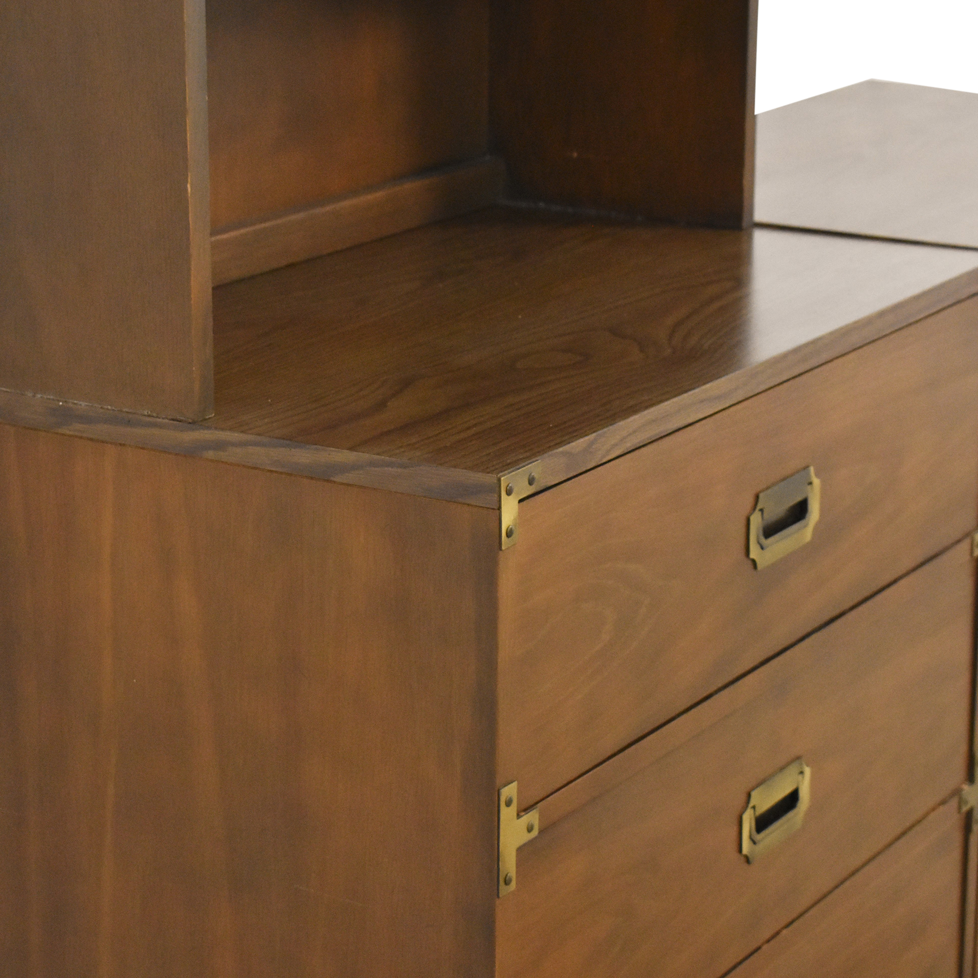 Drexel Drexel Firstmate Three Drawer Dressers with Hutch