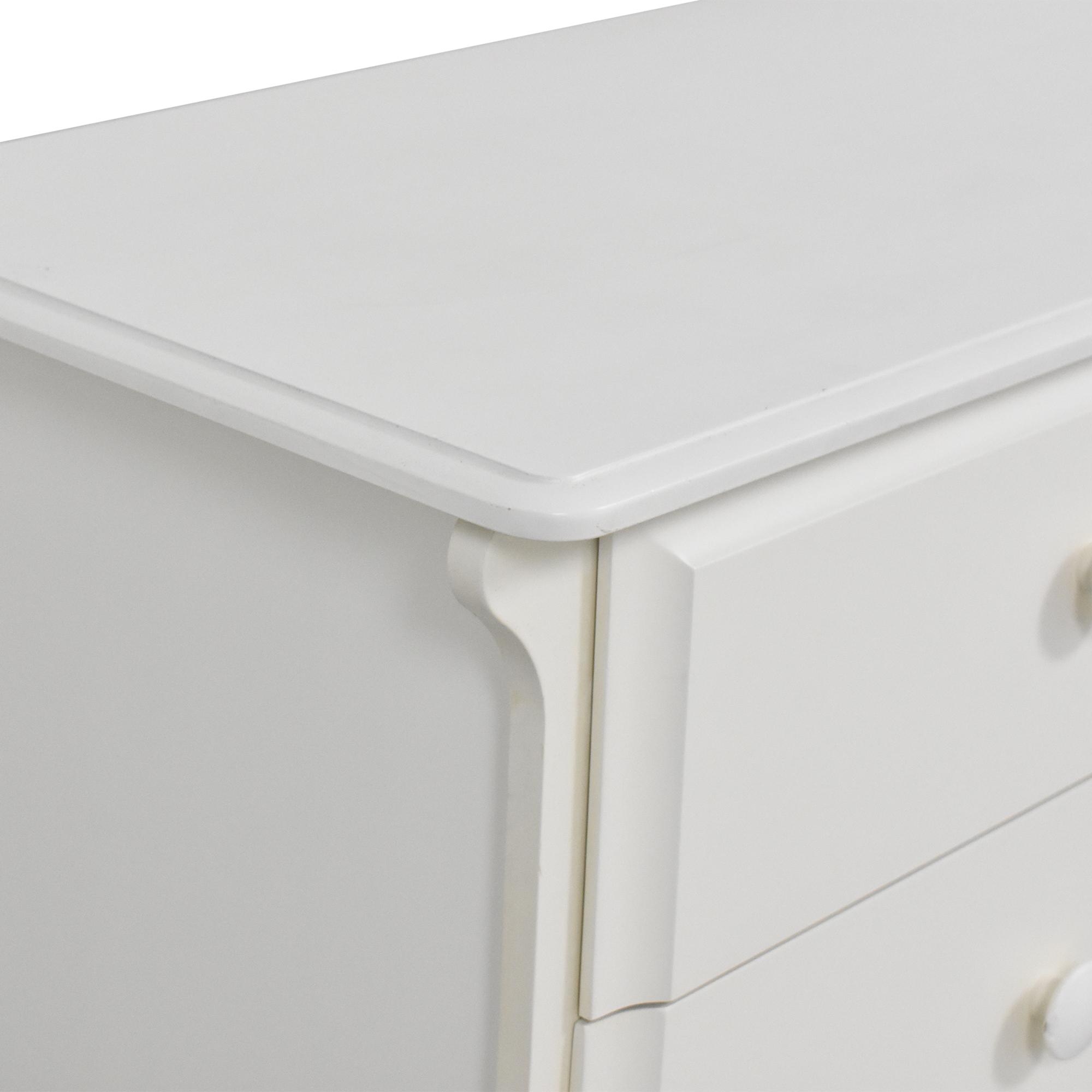 Pali Pali Six Drawer Dresser white