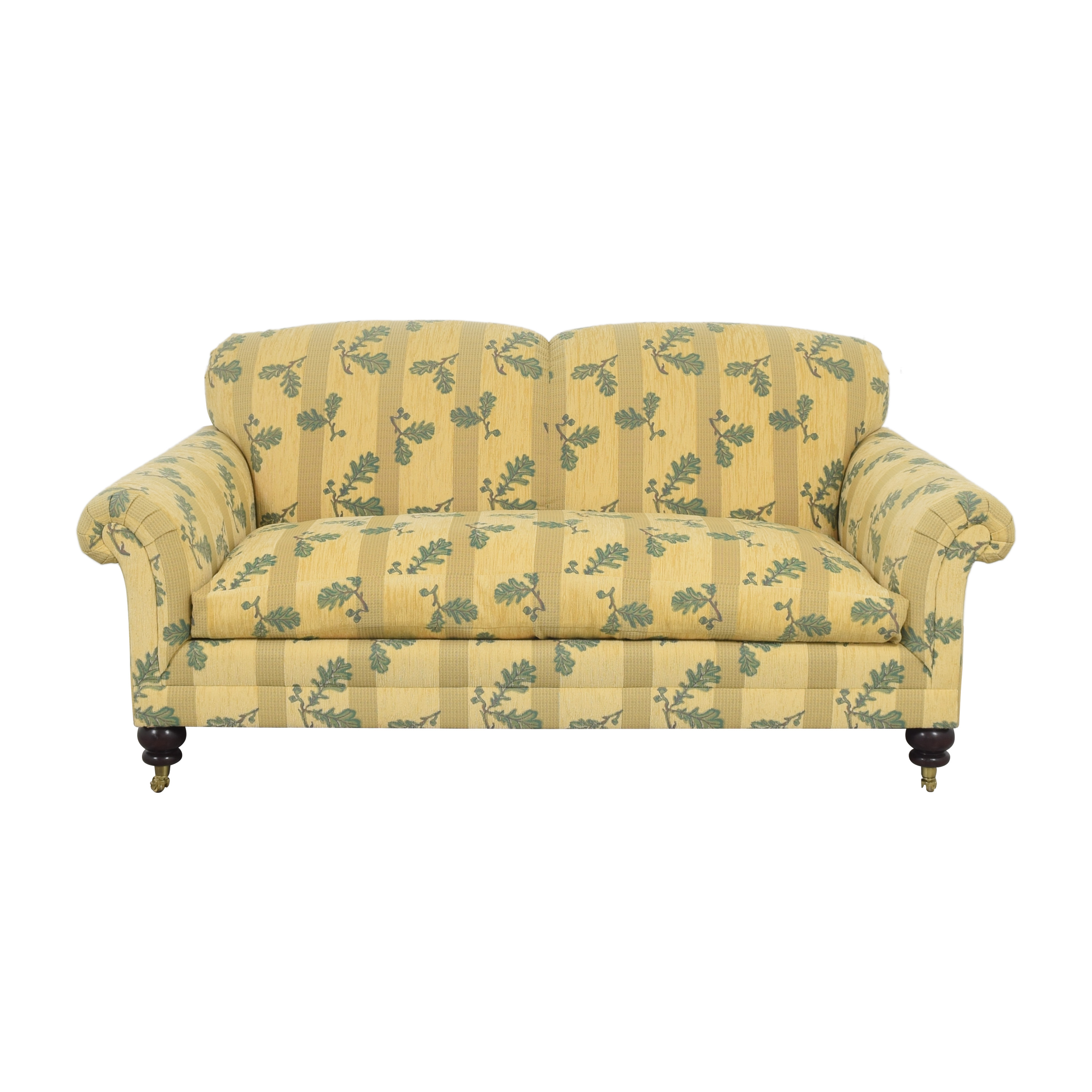 Roll Arm Upholstered Sofa coupon