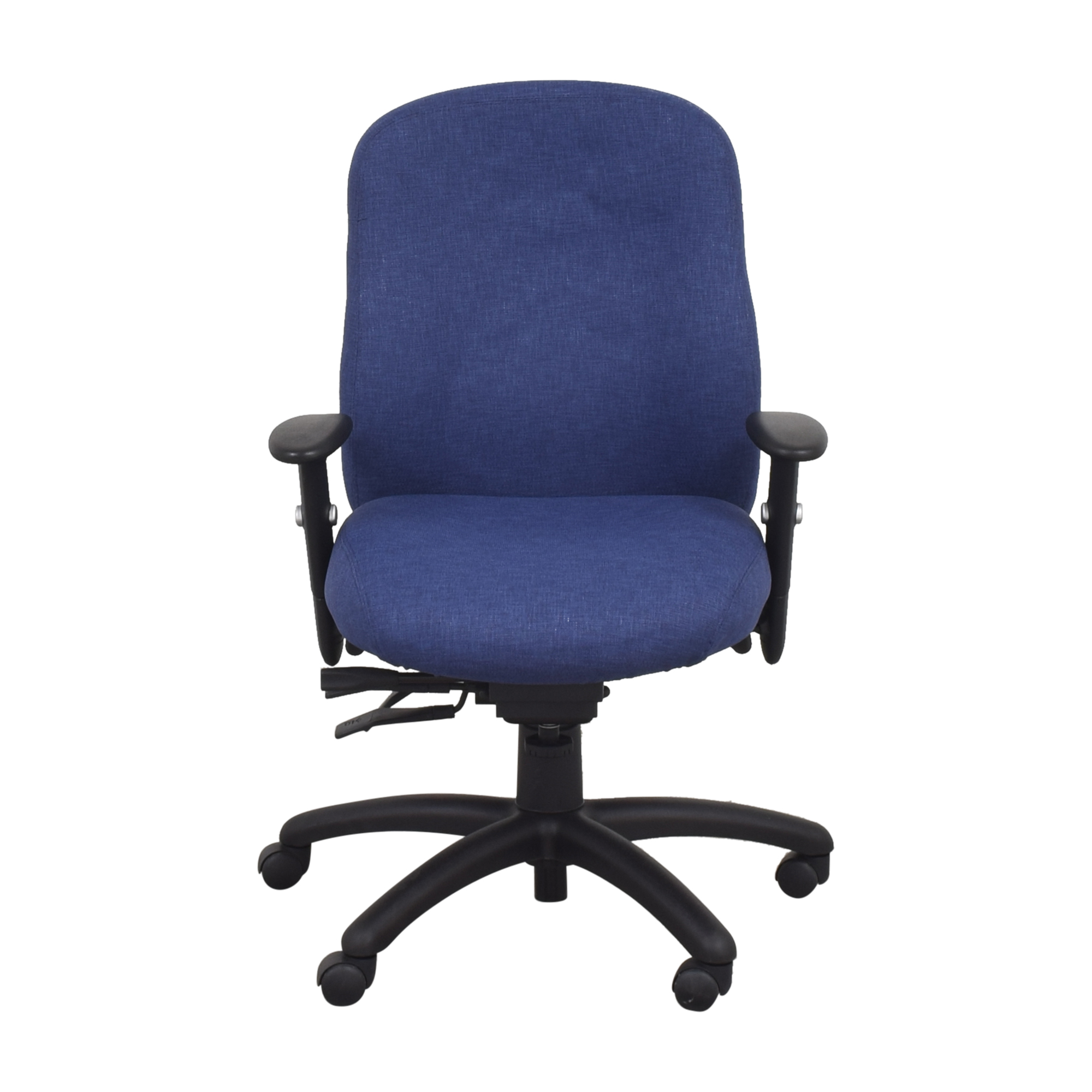 Offices to Go Offices to Go Multi-Function Desk Chair blue and black