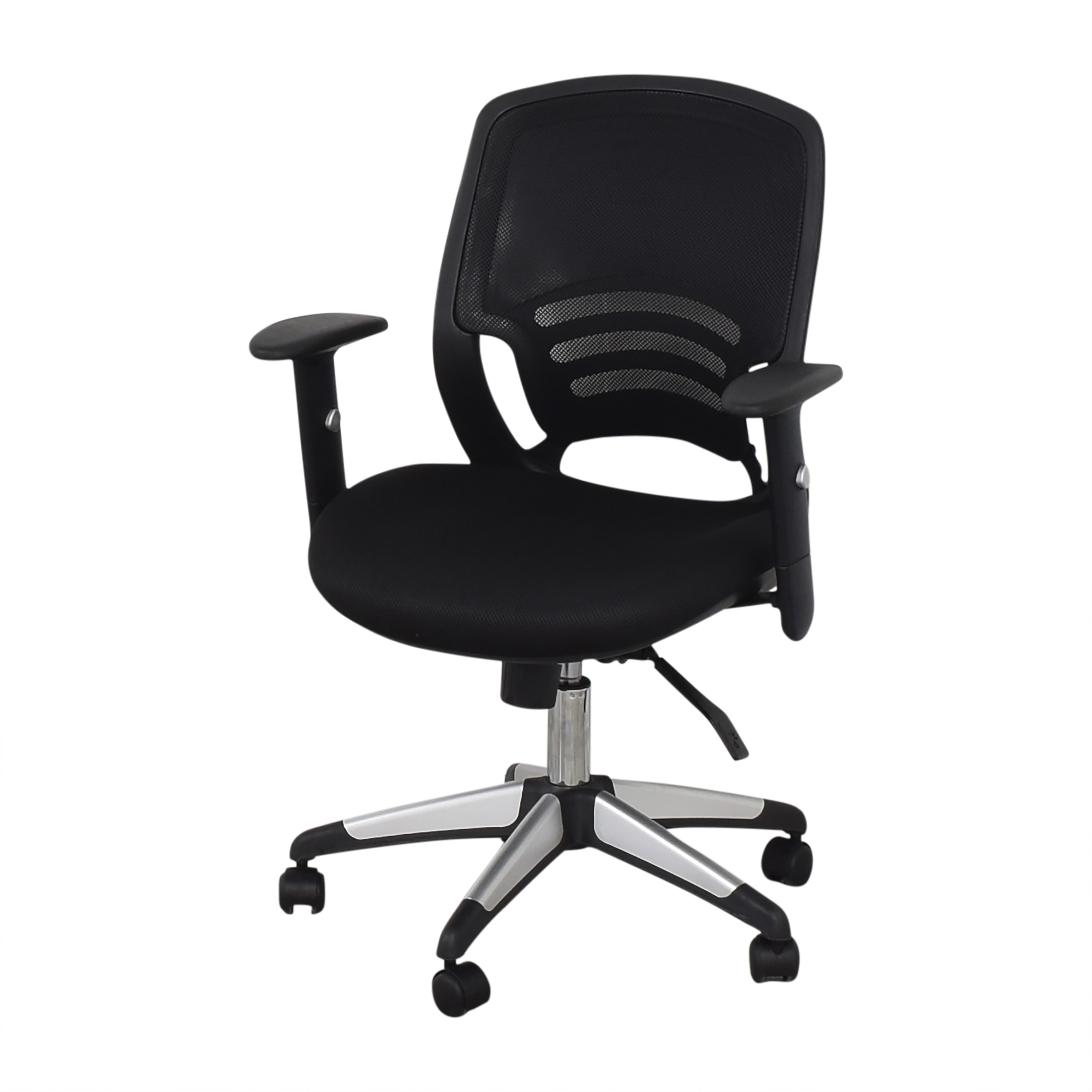 Offices to Go Offices to Go Mid Back Mesh Back Synchro-Tilter Office Chair  nj