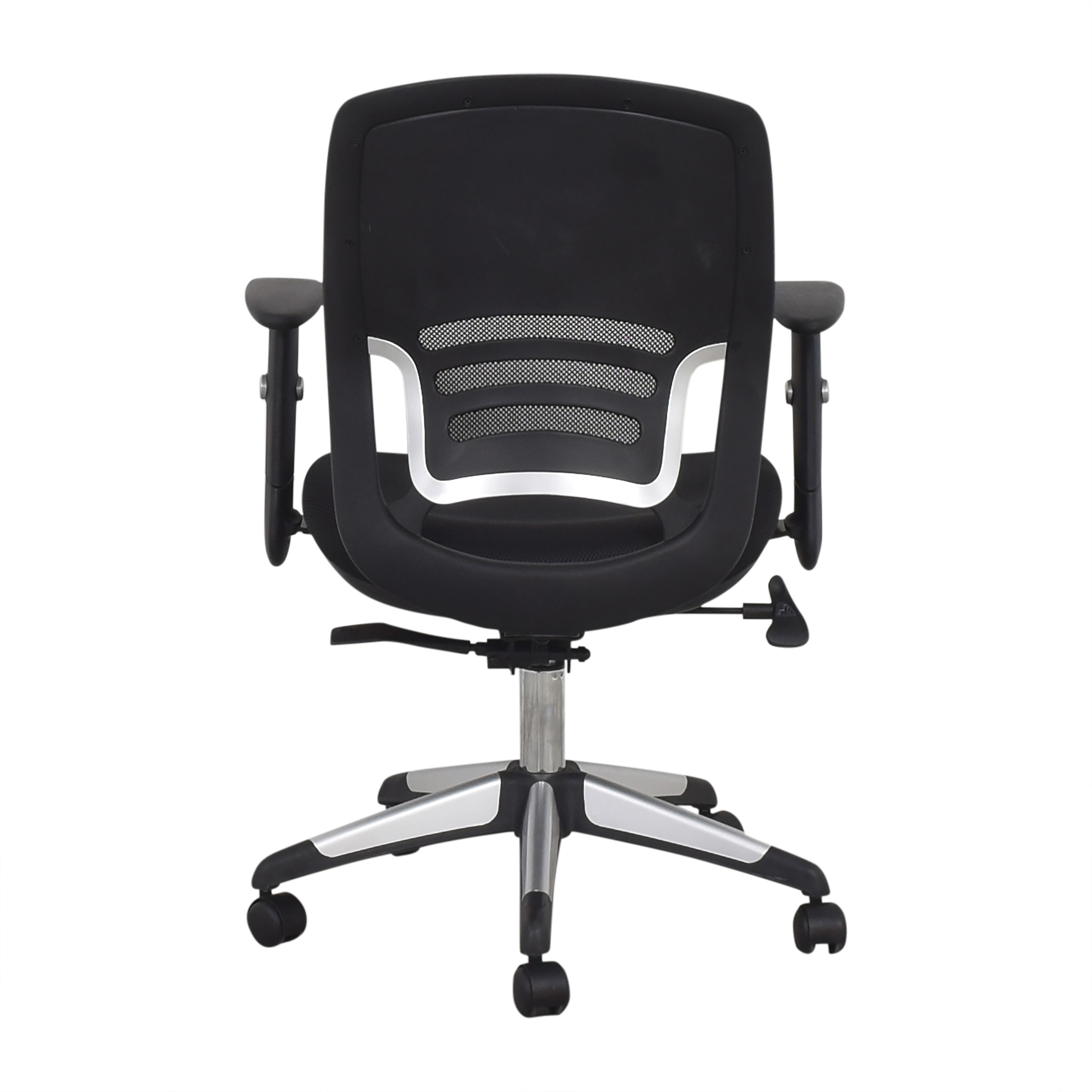 Offices to Go Mid Back Mesh Back Synchro-Tilter Office Chair  / Home Office Chairs