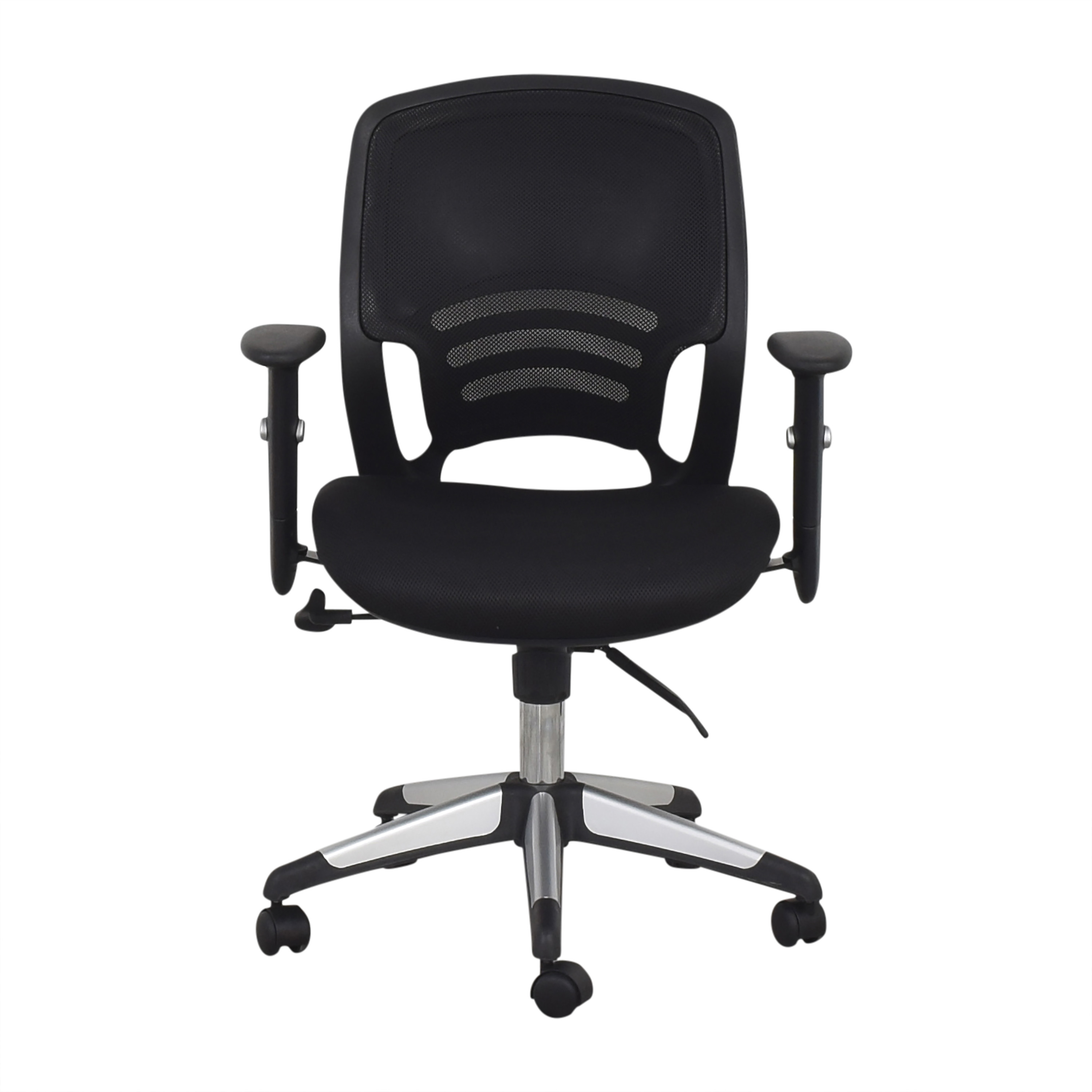 Offices to Go Offices to Go Mid Back Mesh Back Synchro-Tilter Office Chair