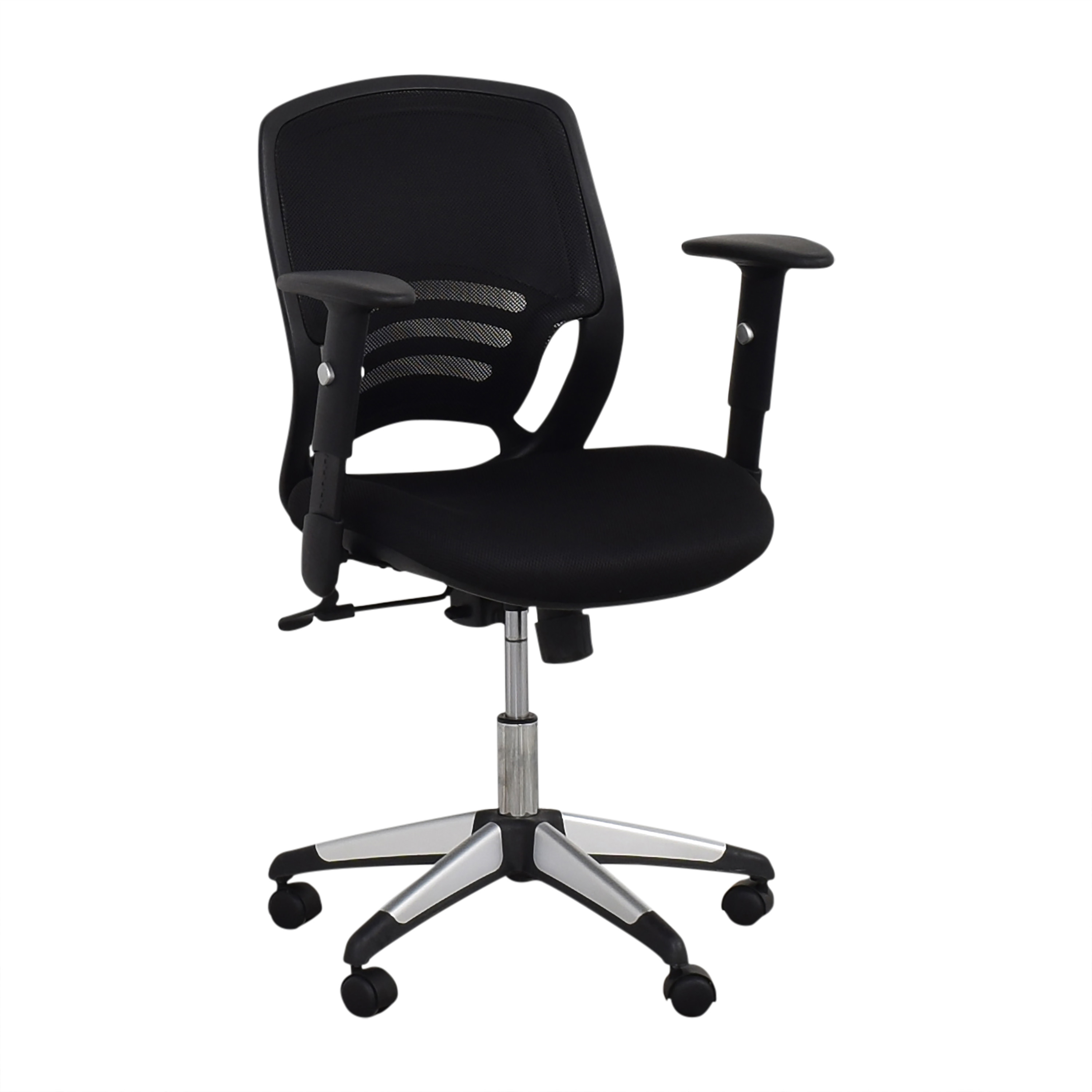 Offices to Go Offices to Go Mid Back Mesh Back Synchro-Tilter Office Chair  discount