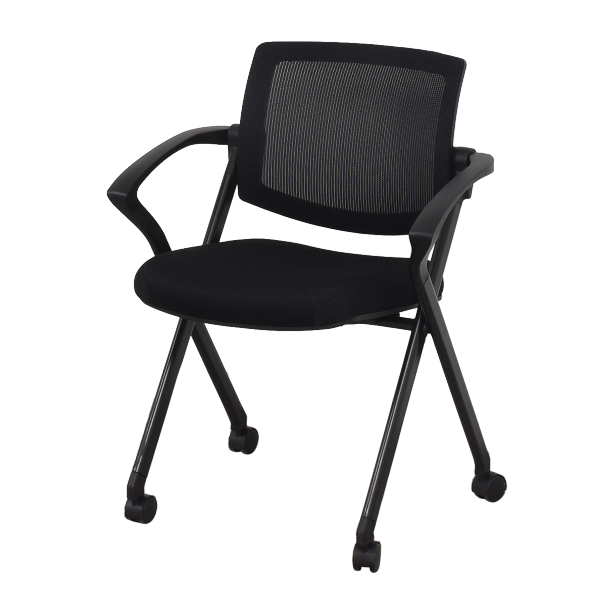 Offices to Go Offices to Go Mesh Back Flip Seat Nesting Chair nyc