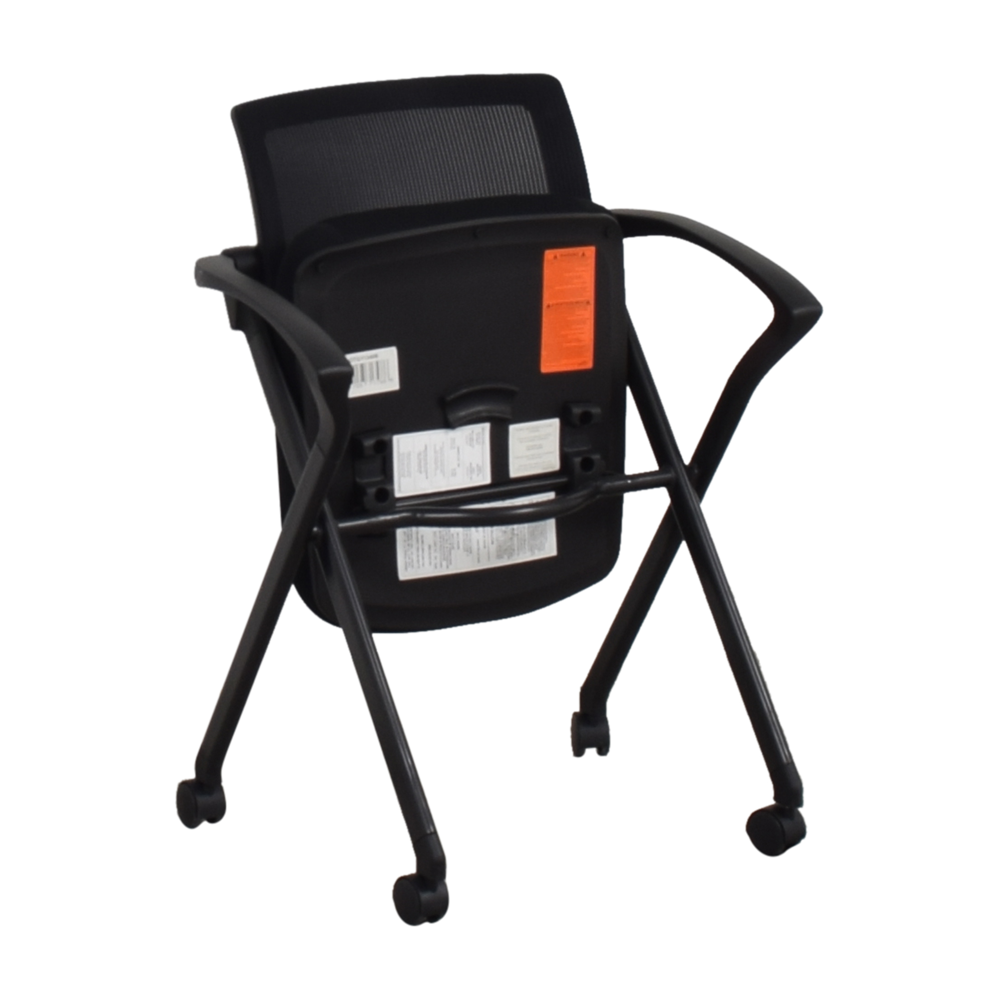 Offices to Go Offices to Go Mesh Back Flip Seat Nesting Chair price