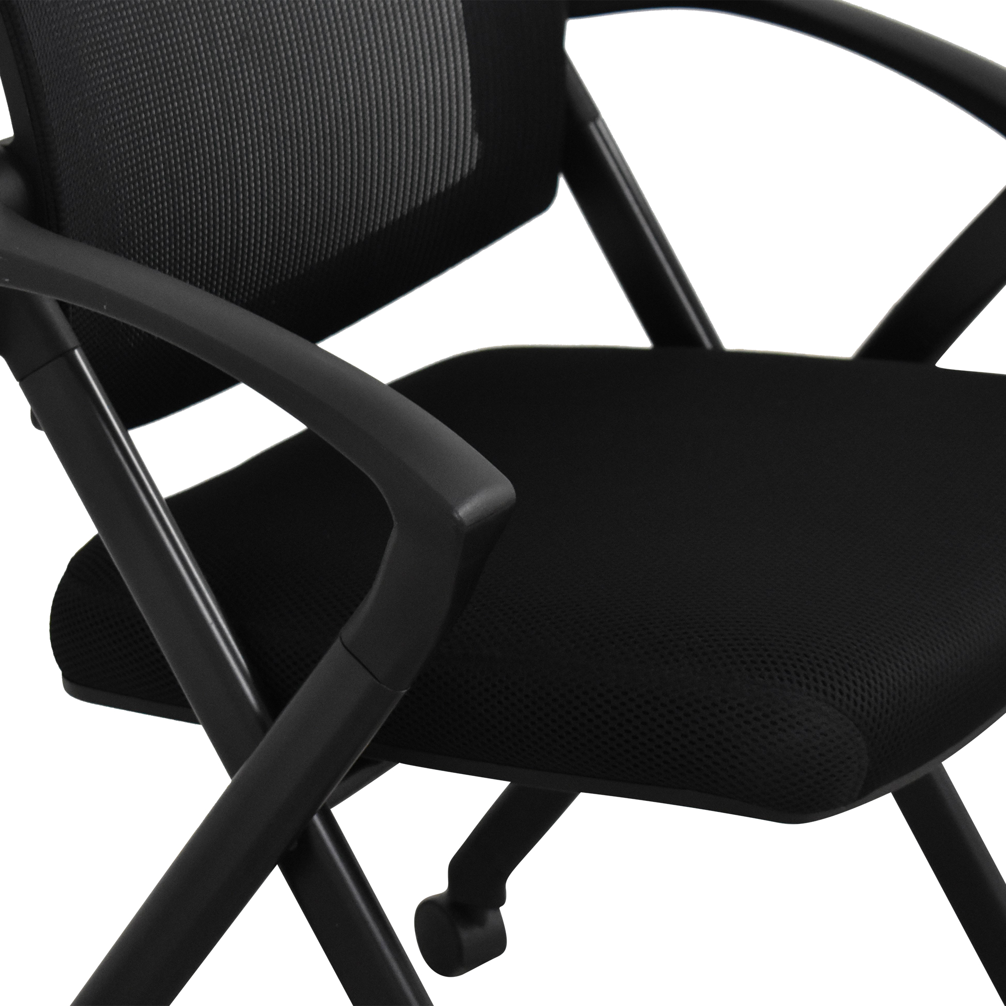Offices to Go Offices to Go Mesh Back Flip Seat Nesting Chair coupon