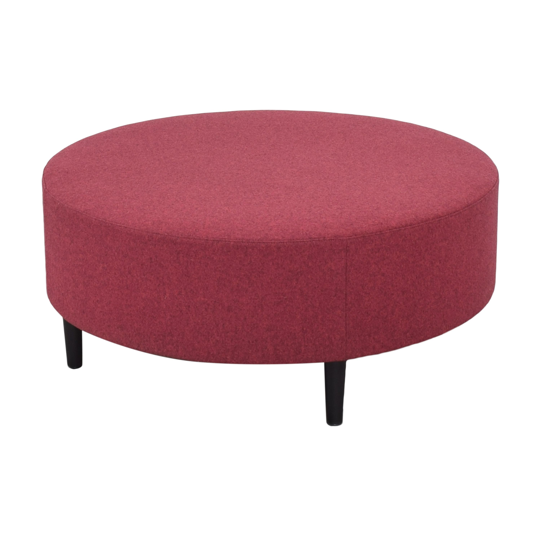 Global Furniture Group Global Furniture Group River Round Bench pink