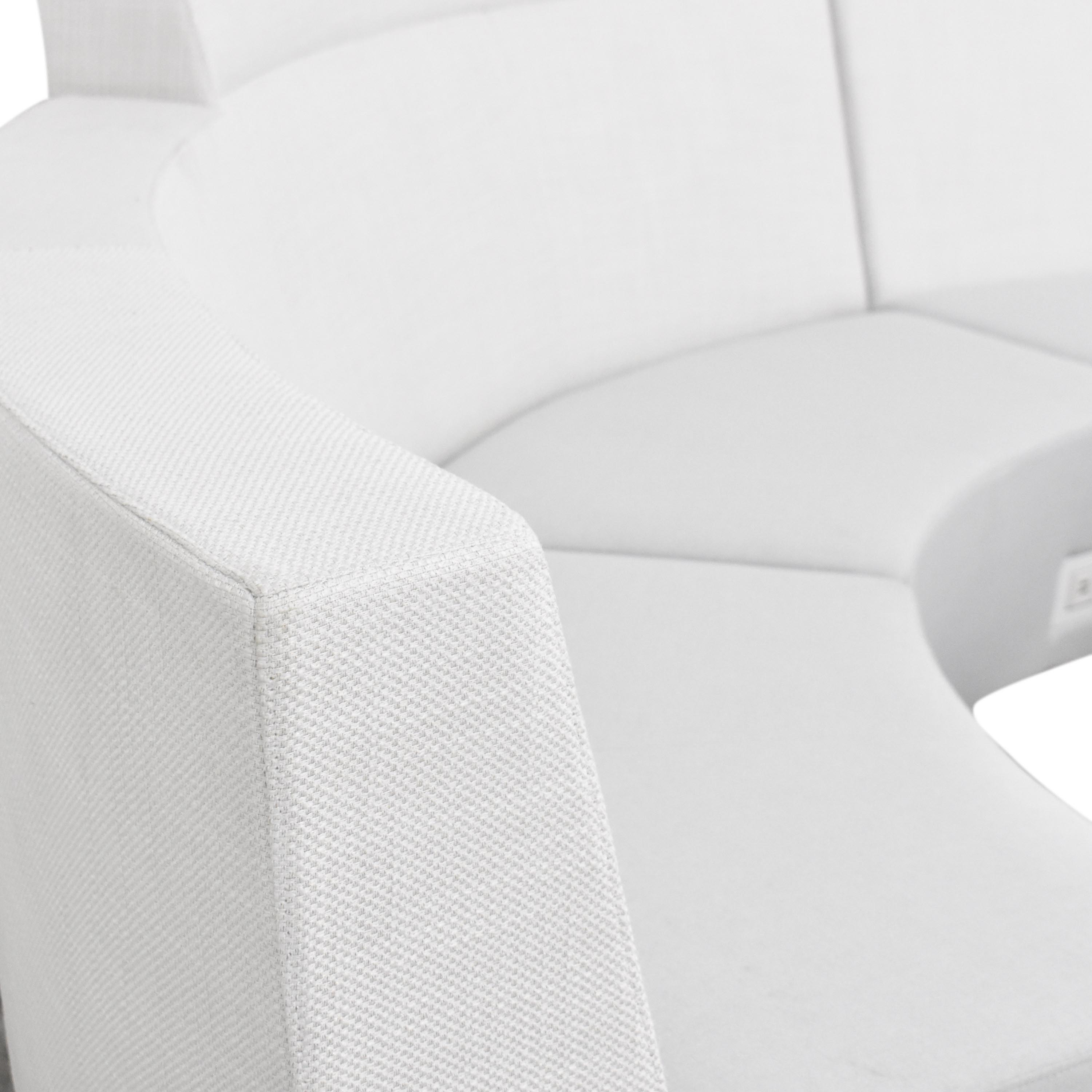 Global Furniture Group Global Furniture Group River Sectional Sofa with Coffee Table Section Sofas